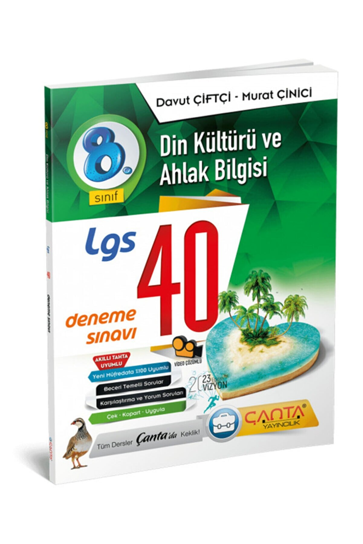 Çanta Yayınları 8. Sınıf – Din Kültürü Ve Ahlak Bilgisi – Lgs 40 Deneme Sınavı