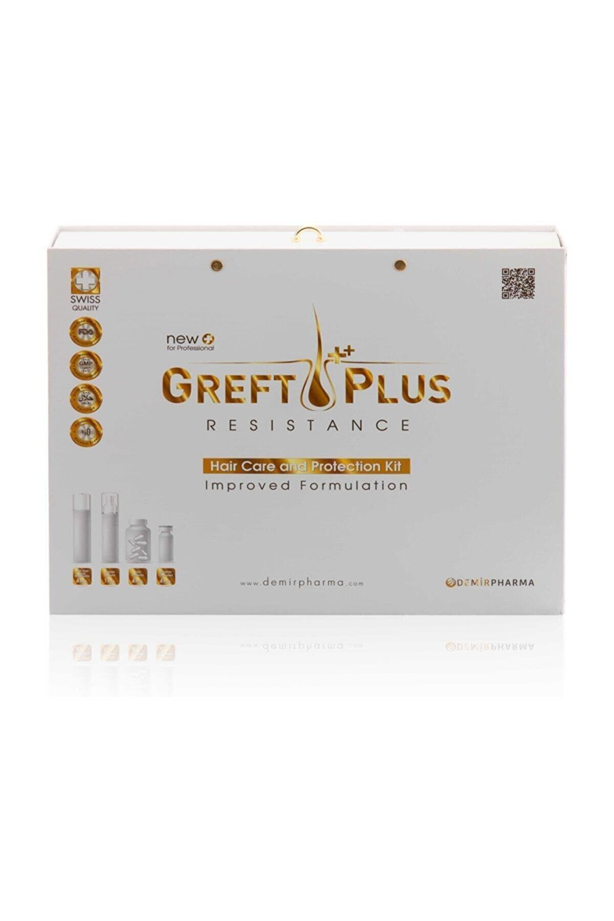 DEMİR PHARMA Greft Plus 6 Aylık Saç Bakım Seti Hair Care And Protection Kit