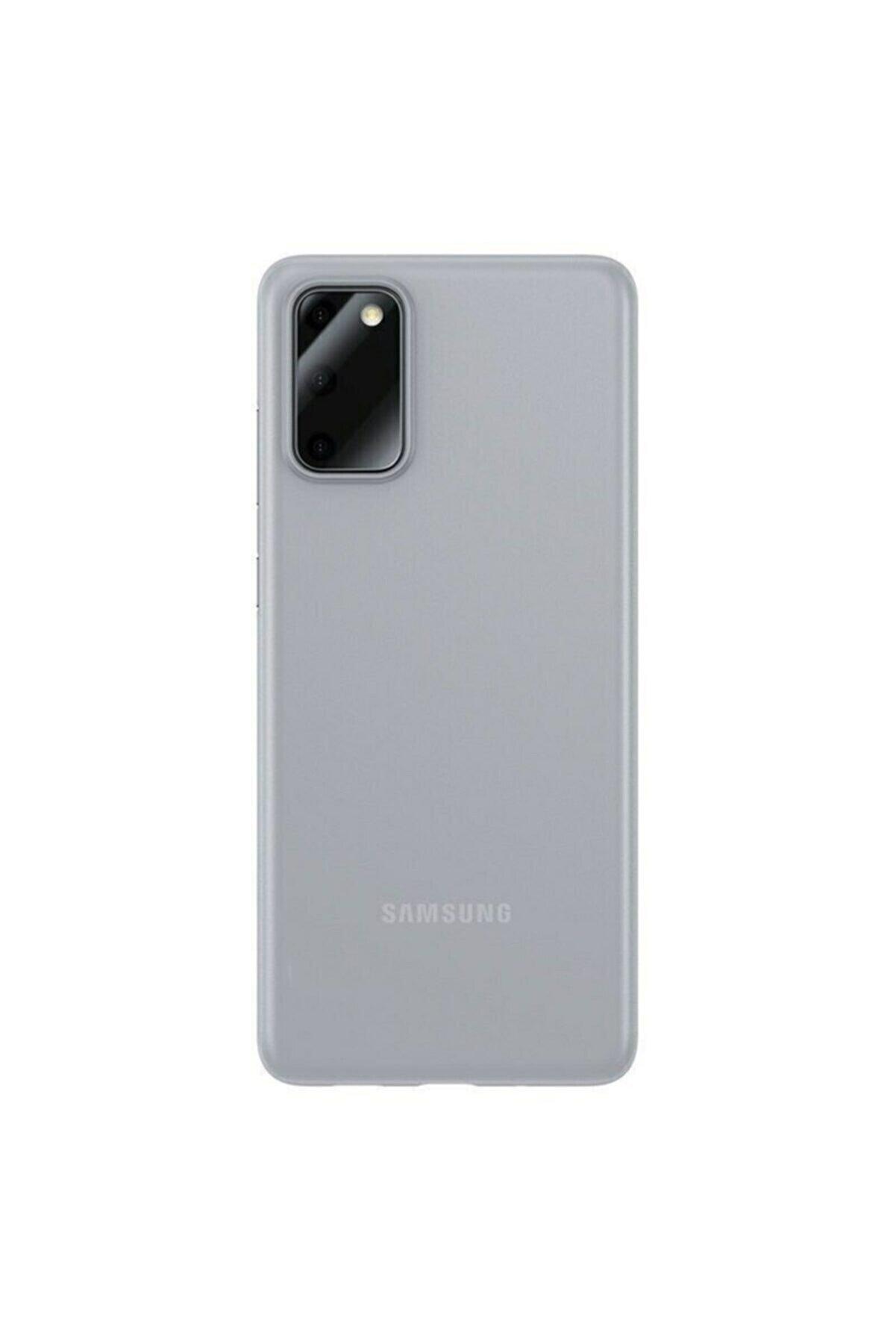 Samsung Teleplus Galaxy S20 Plus Kılıf Hayalet 0.4mm Silikon Şeffaf