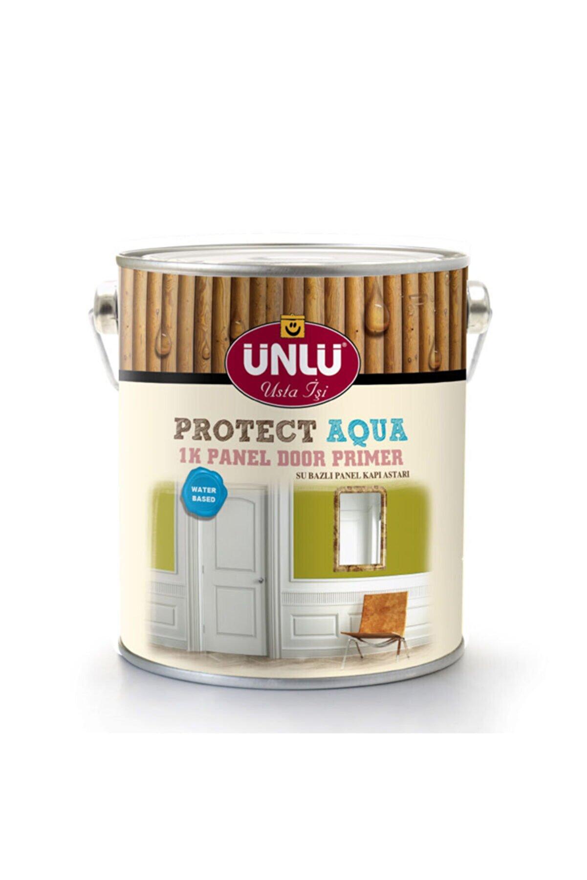 Ünlü Boya Ünlü Protect Aqua Su Bazlı 1k Panel Kapı Astarı Beyaz 5l