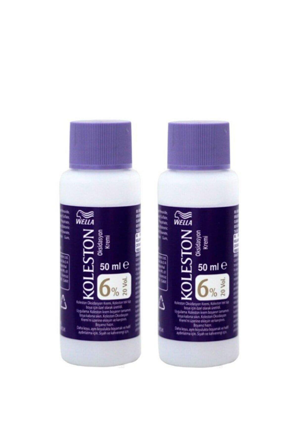 Koleston Sıvı Peroksit %6 20 Volume 50 Ml X 2 Adet