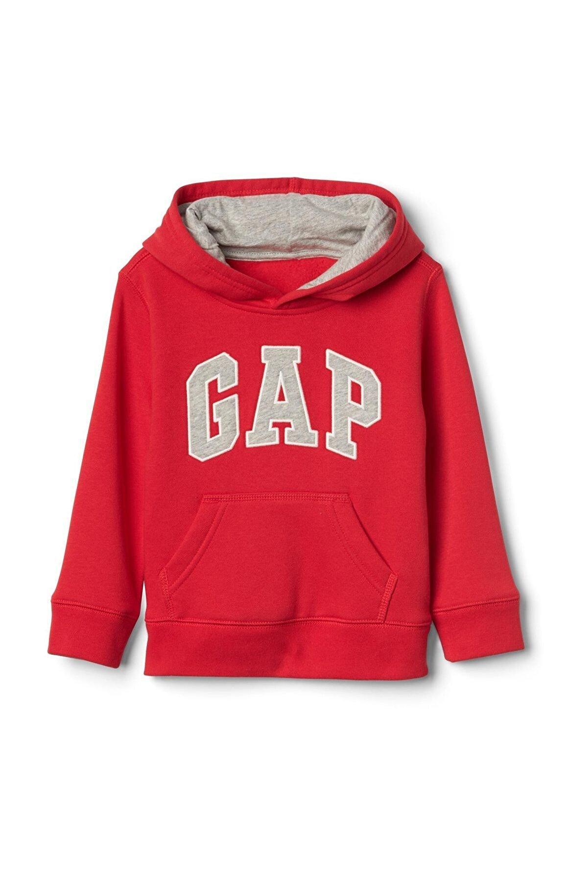 GAP Bebek Logolu Kapüşonlu Sweatshirt