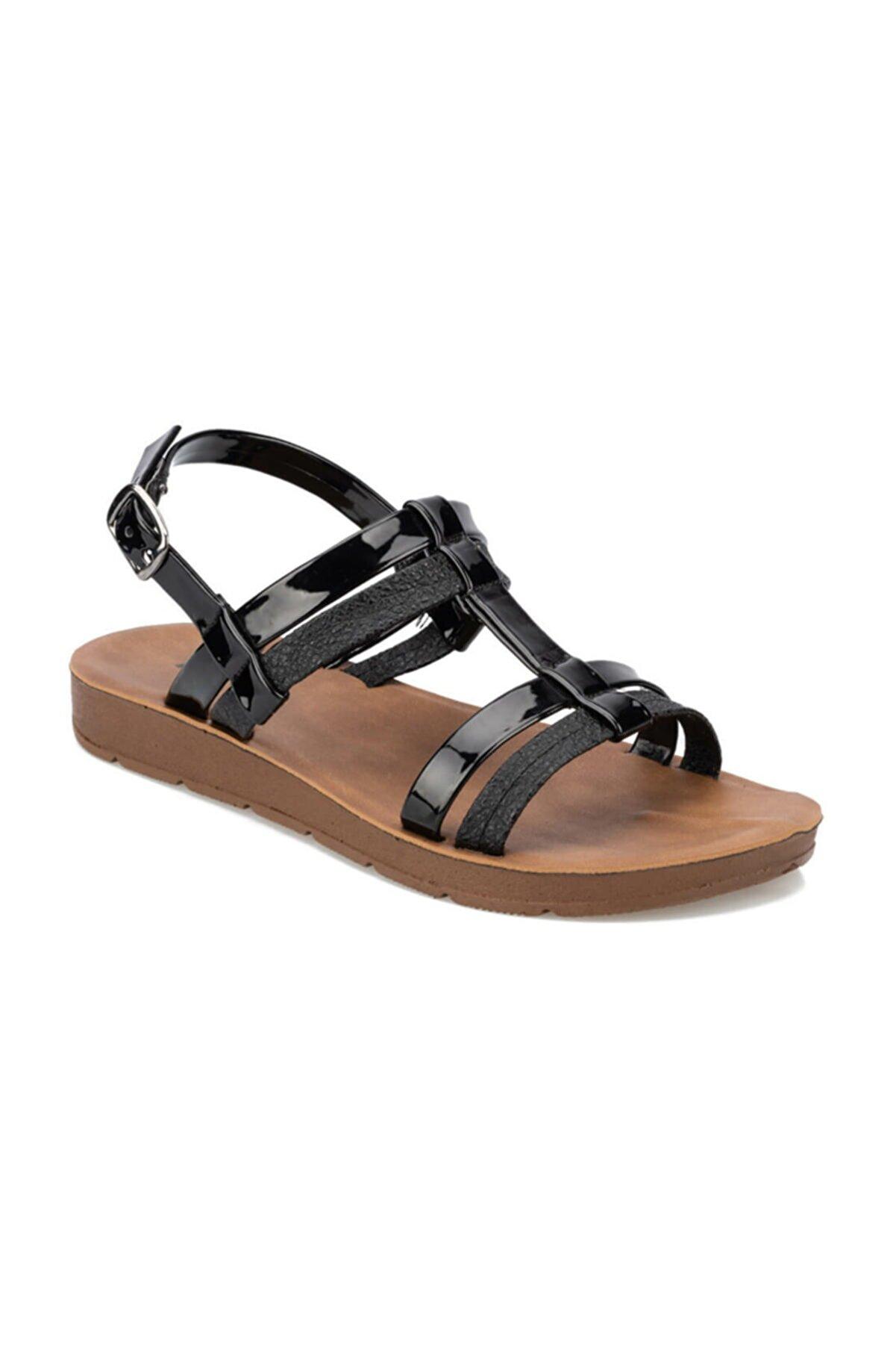 Polaris 91.313612DZ Siyah Kadın Sandalet 100375647
