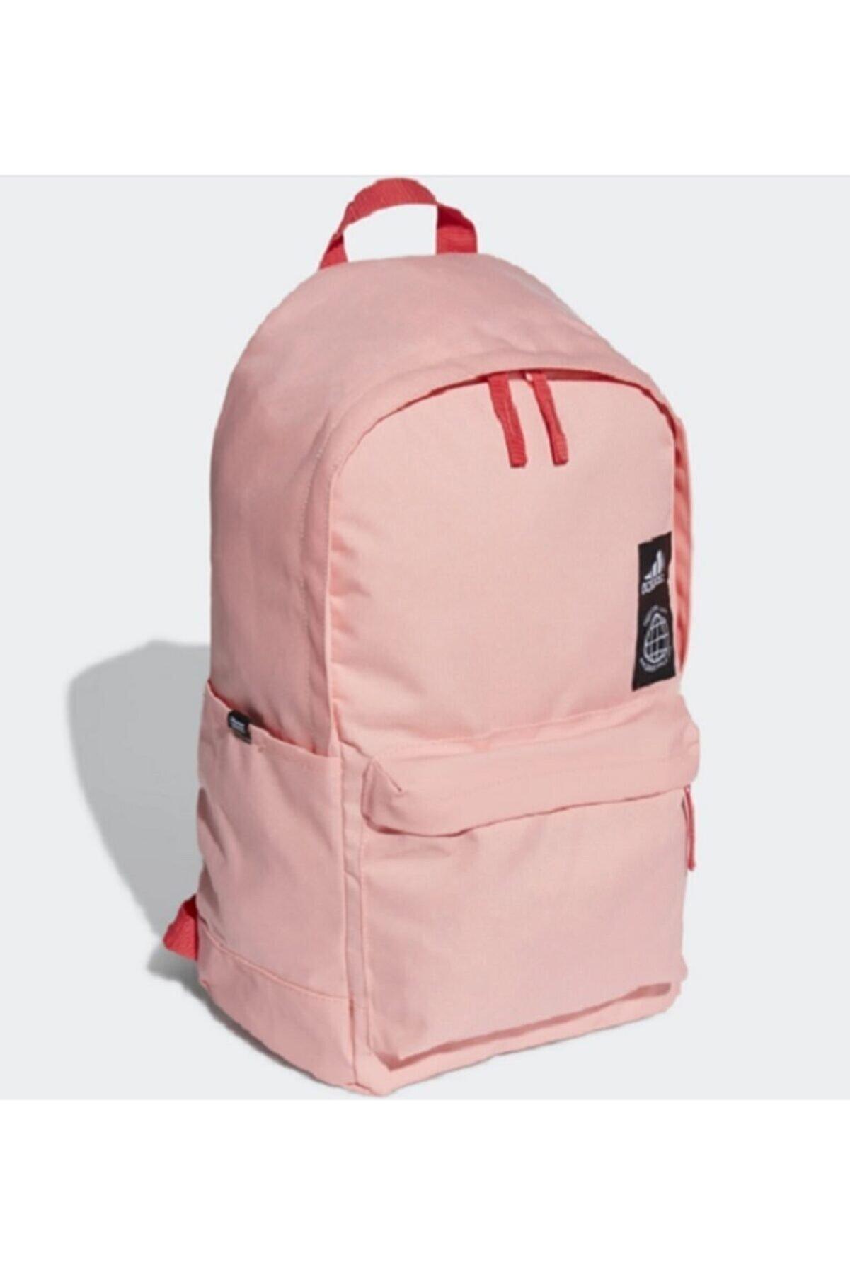 adidas Sırt Çantası Pembe 9280 Laptop Gözlü Okul Sırt Çantası
