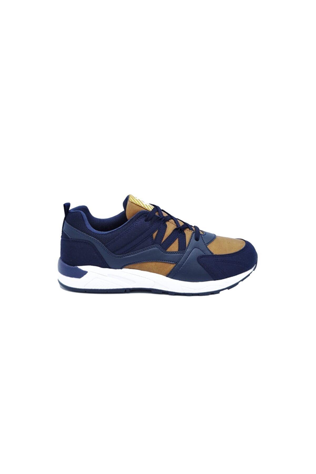 Dunlop Günlük Taba Lacivert Spor Ayakkabı 349622310-1