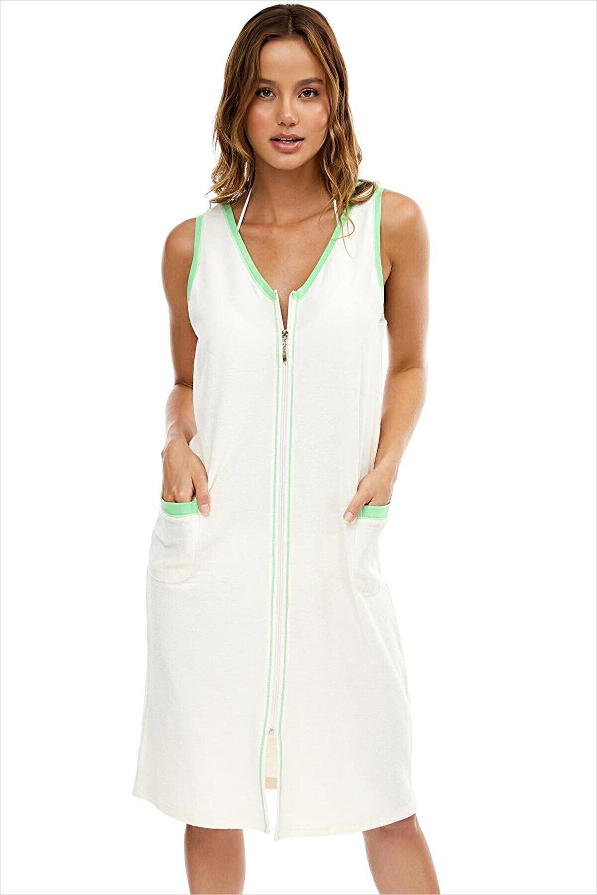 AYYILDIZ 59492 Fermuarlı Havlu Elbise 59492