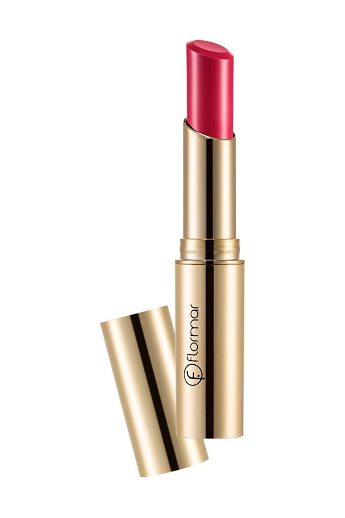 Flormar Deluxe Cashmere Lipstick Stylo Mat Koyu Kırmızı Ruj DC24 8690604184491