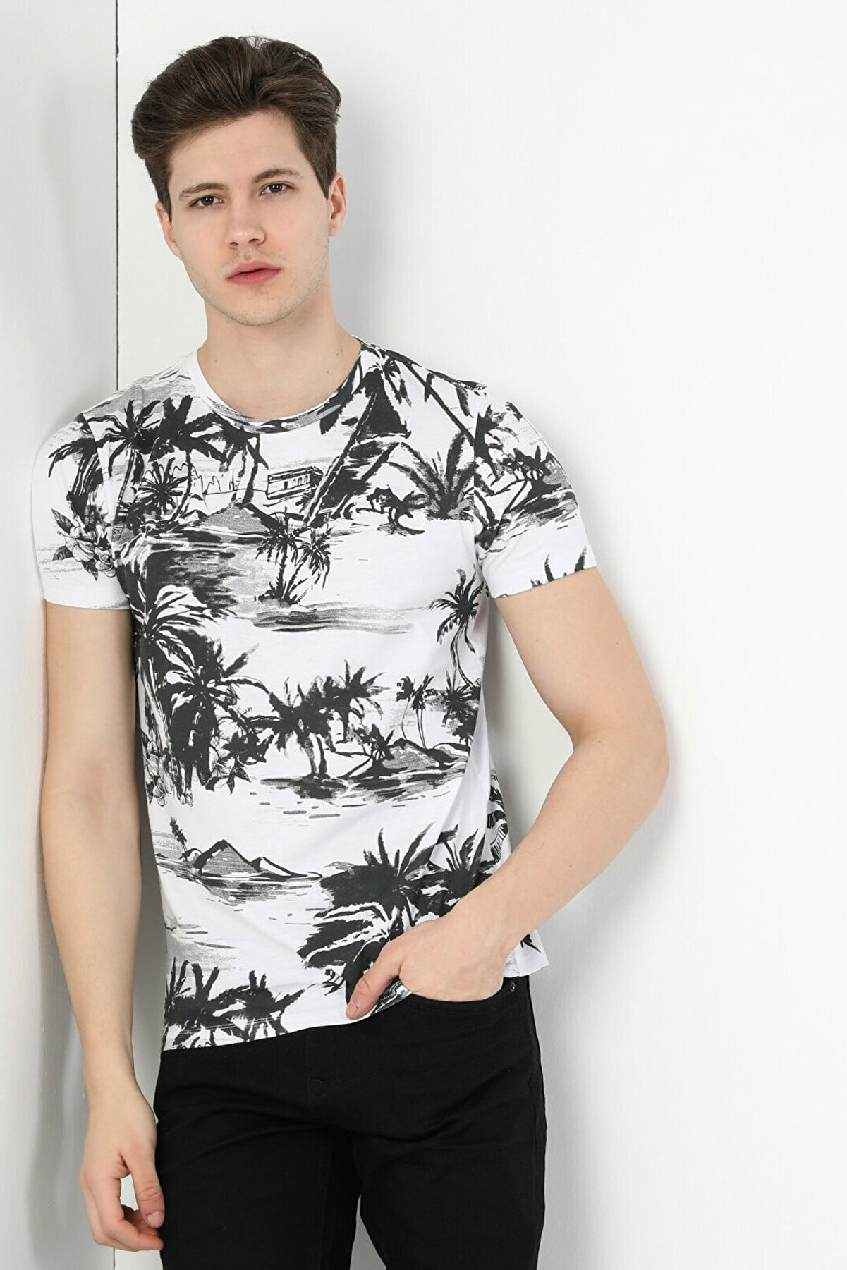 Colin's Erkek Tshirt K.kol CL1049443
