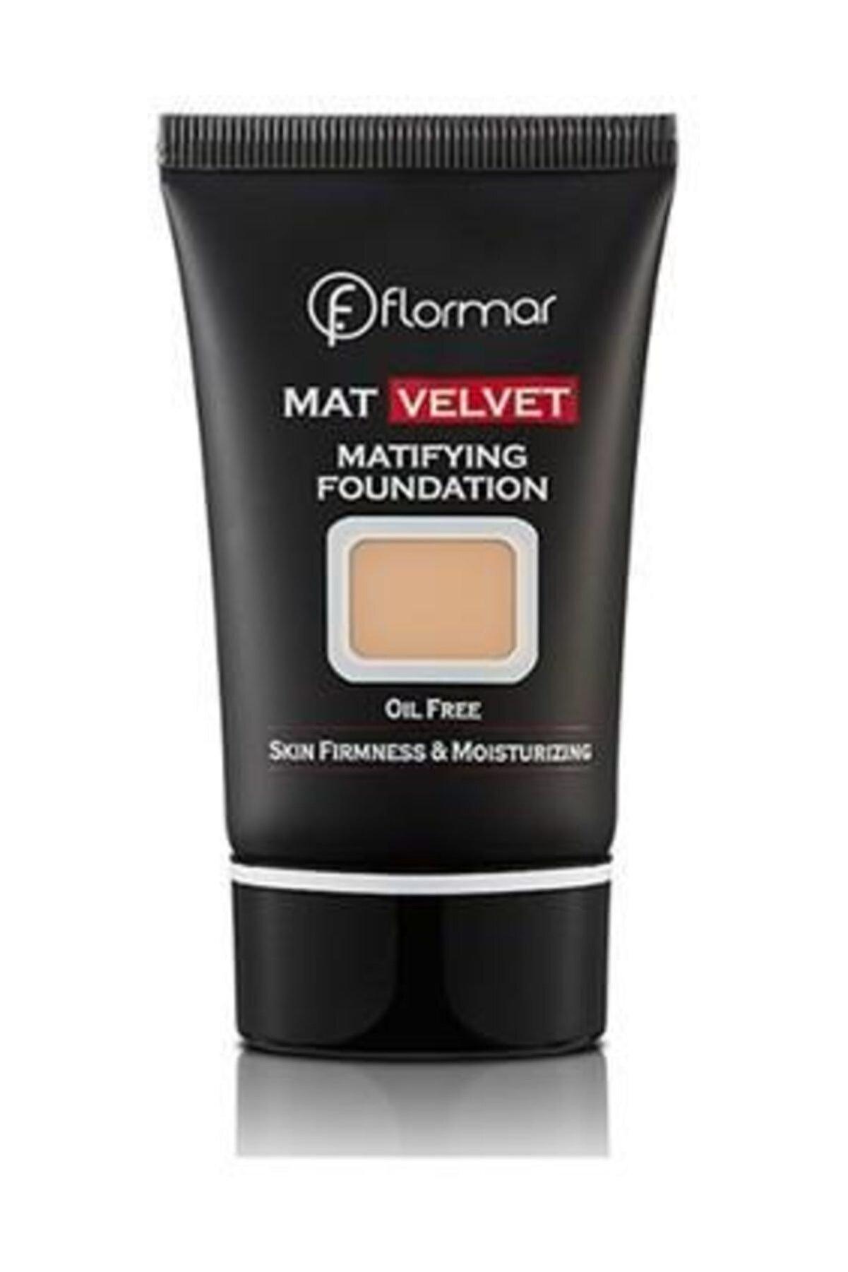 Flormar Fondöten - Mat Velvet Matifying Foundation No: 207 8690604130580
