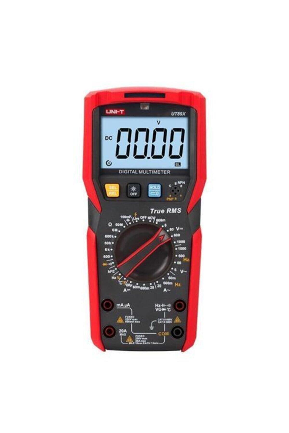 Unit Unı-t Ut 89x Dijital Multimetre