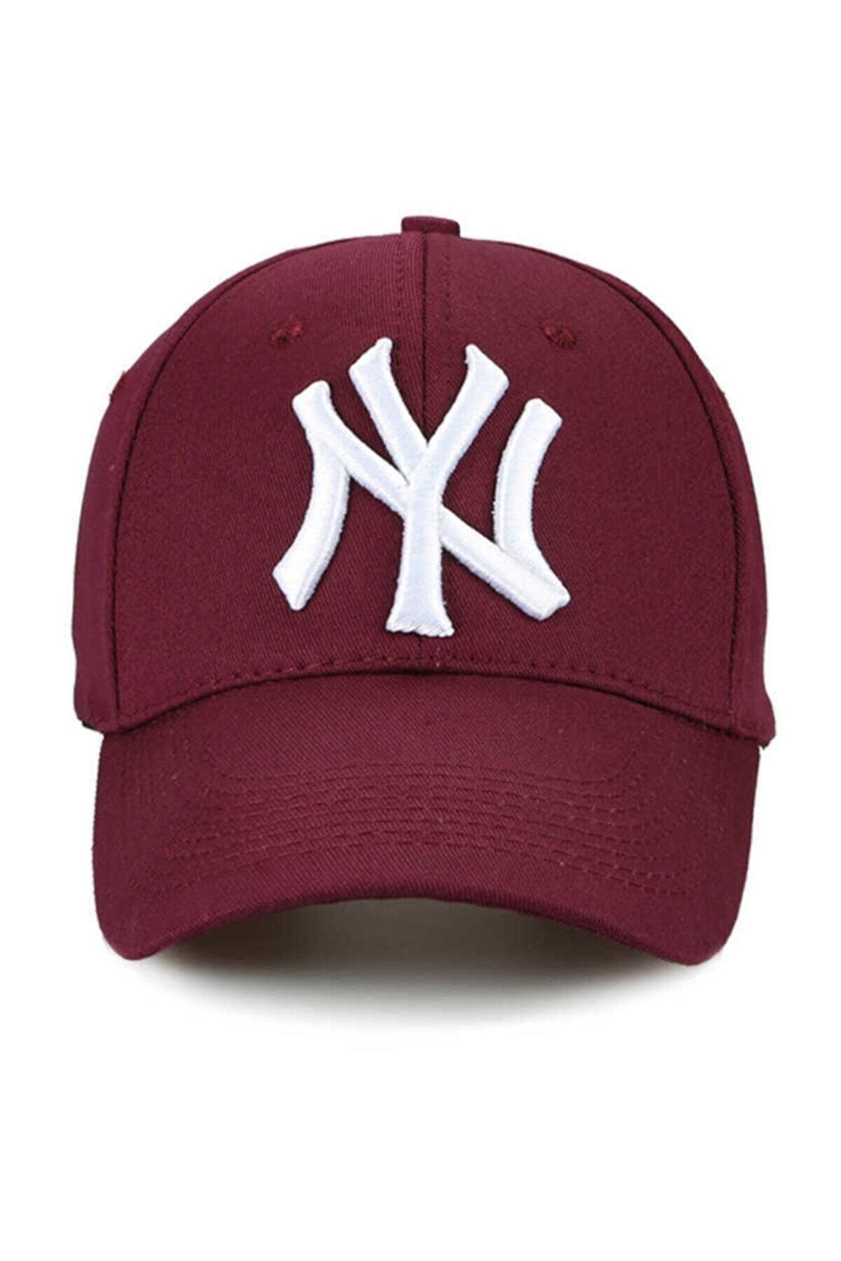 Orçun Özkarlıklı Unisex Bordo Ny Şapka