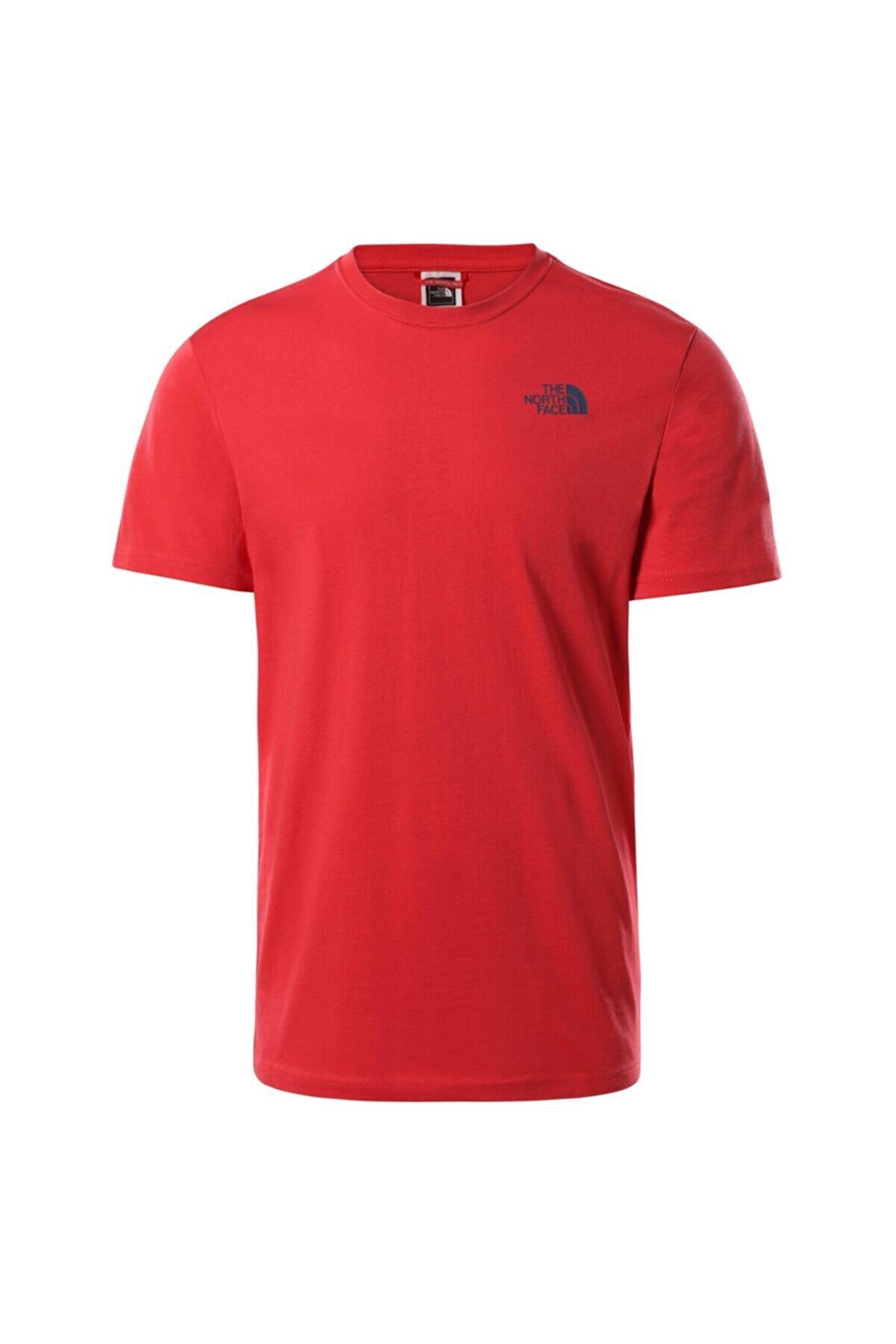 The North Face Erkek Kırmızı Redbox Celebration Tee T-shirt T92zxev34