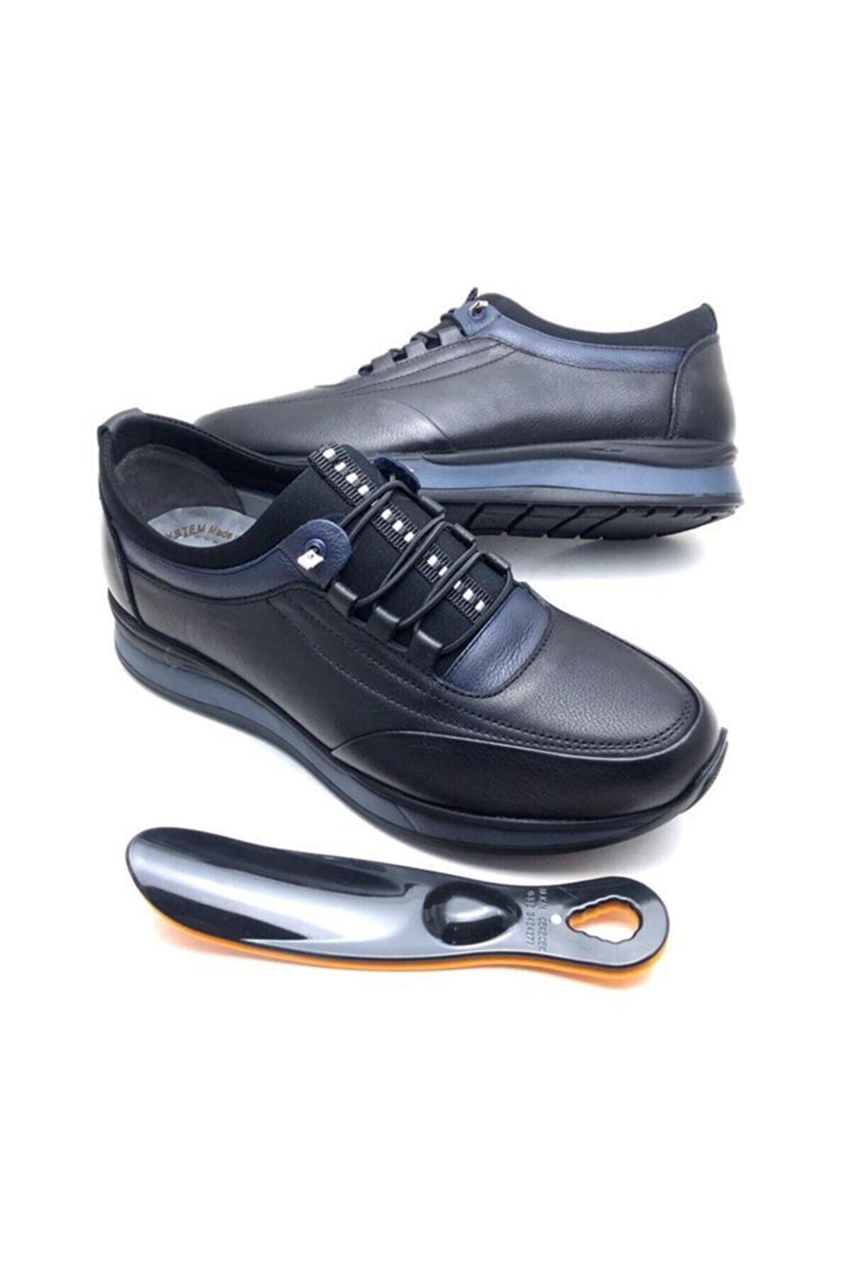 Derilax Hakiki Deri Tam Ortopedik Erkek Ayakkabı