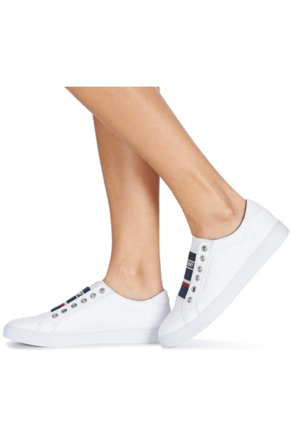 Tommy Hilfiger Kadın Beyaz Venus 8c1 Ayakkabı