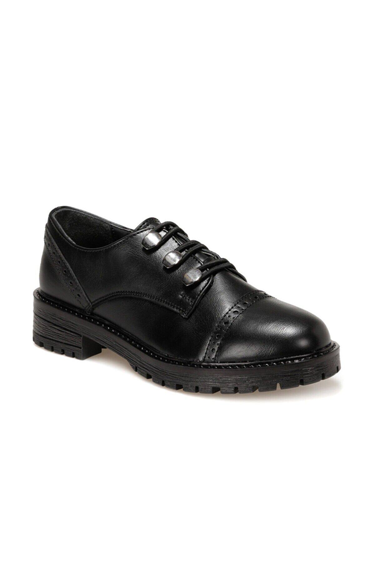 Polaris 316805.Z Siyah Kadın Maskulen Ayakkabı 100562275