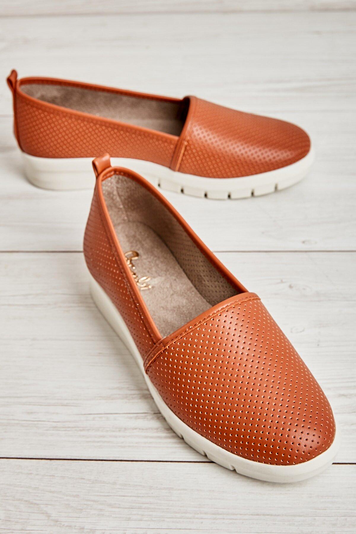Bambi Taba Kadın Ayakkabı L0586038109