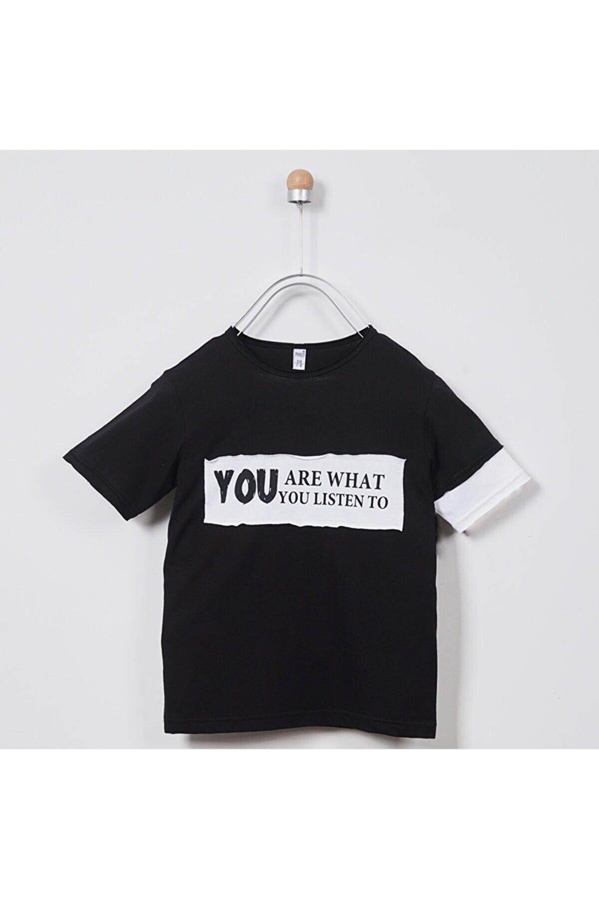 Panço Erkek Çocuk T-shirt 2011bk05021