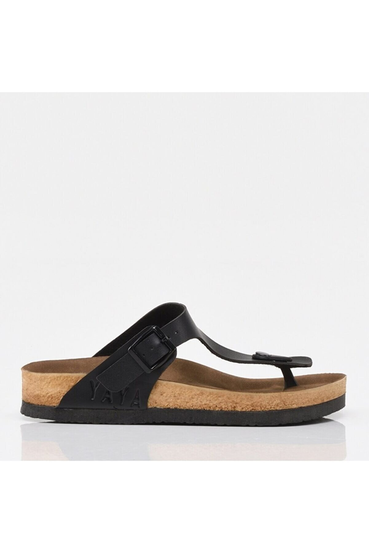 Hotiç Siyah Yaya Kadın Sandalet &terlik