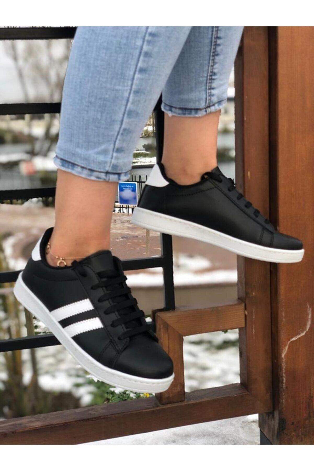MİADORA Kadın Siyah Spor Ayakkabı