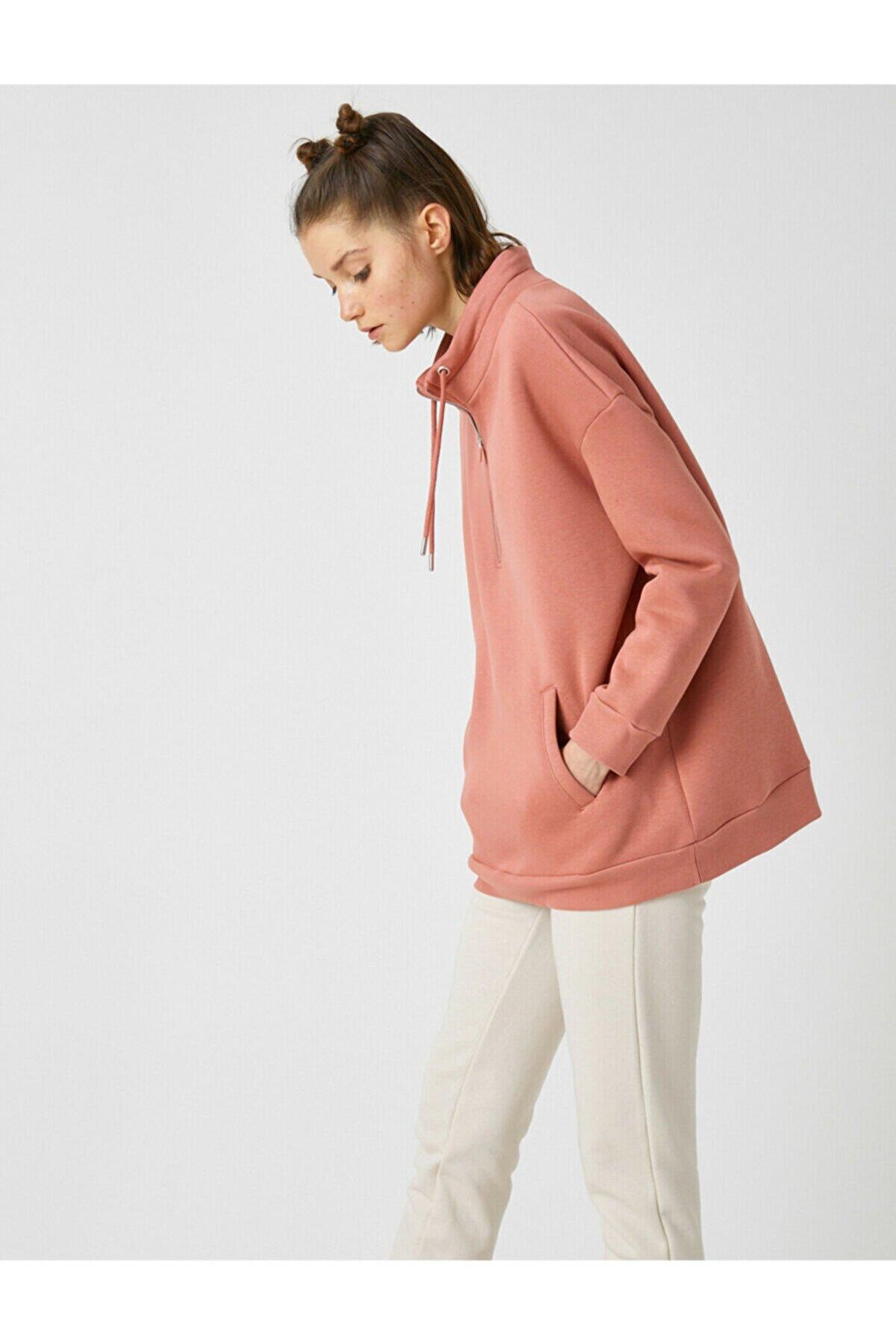 Koton Kadın Pembe Sweatshirt