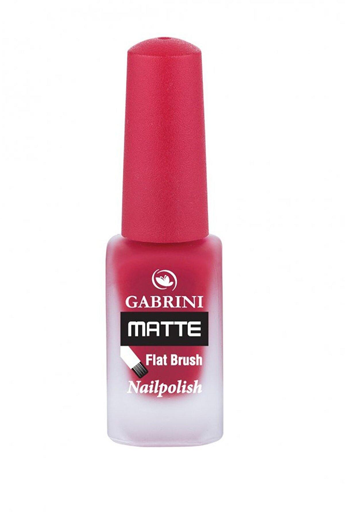 Gabrini 03 Gabrini Matte Flat Brush Nailpolish (13ml )
