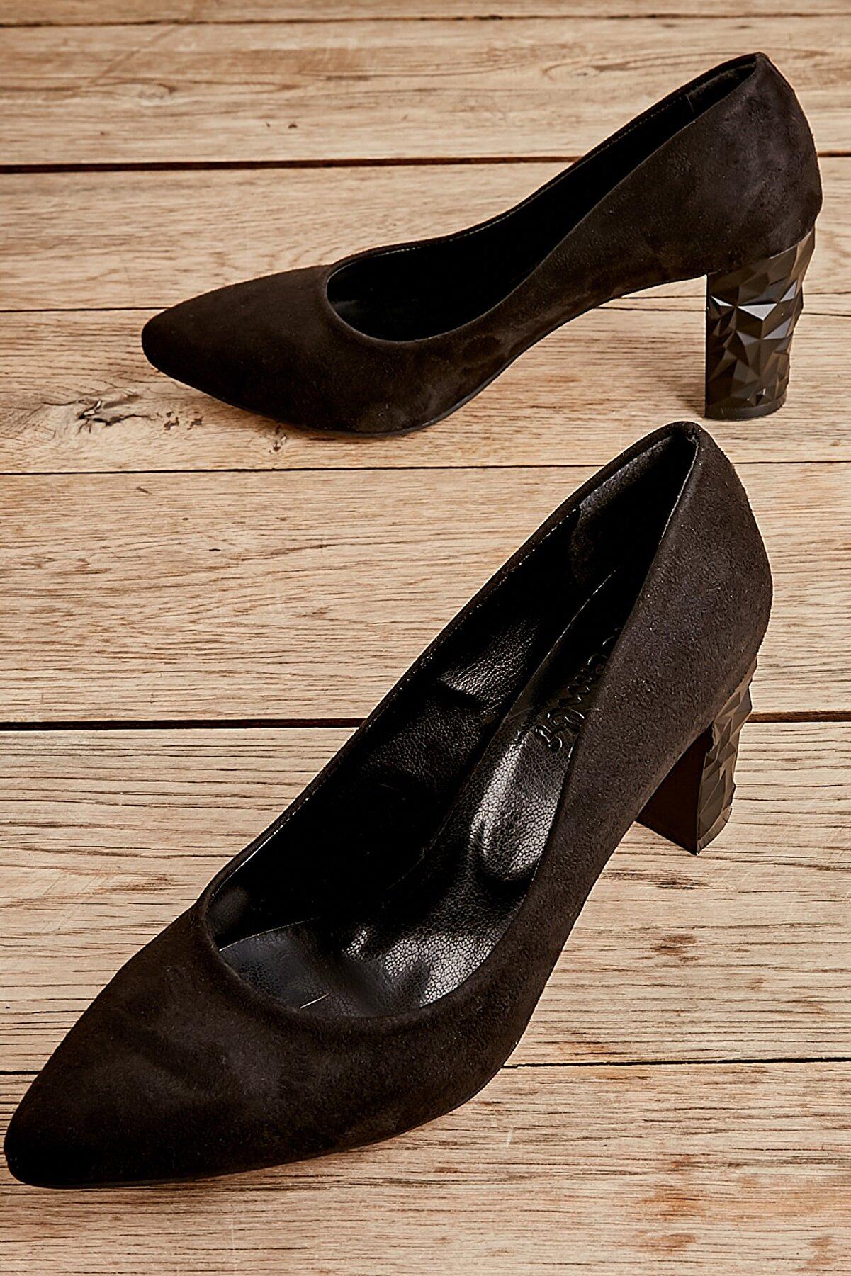 Bambi Siyah Kadın Abiye Ayakkabı L06740902