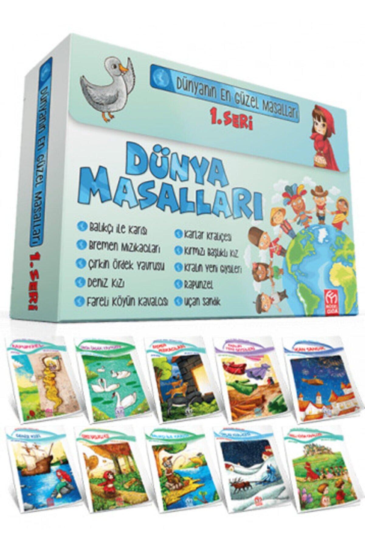Model Yayınları Model Eğitim Yayınları Dünya Masalları 1. Seri 10 Kitap 1. Sınıflar Için Model Çocuk