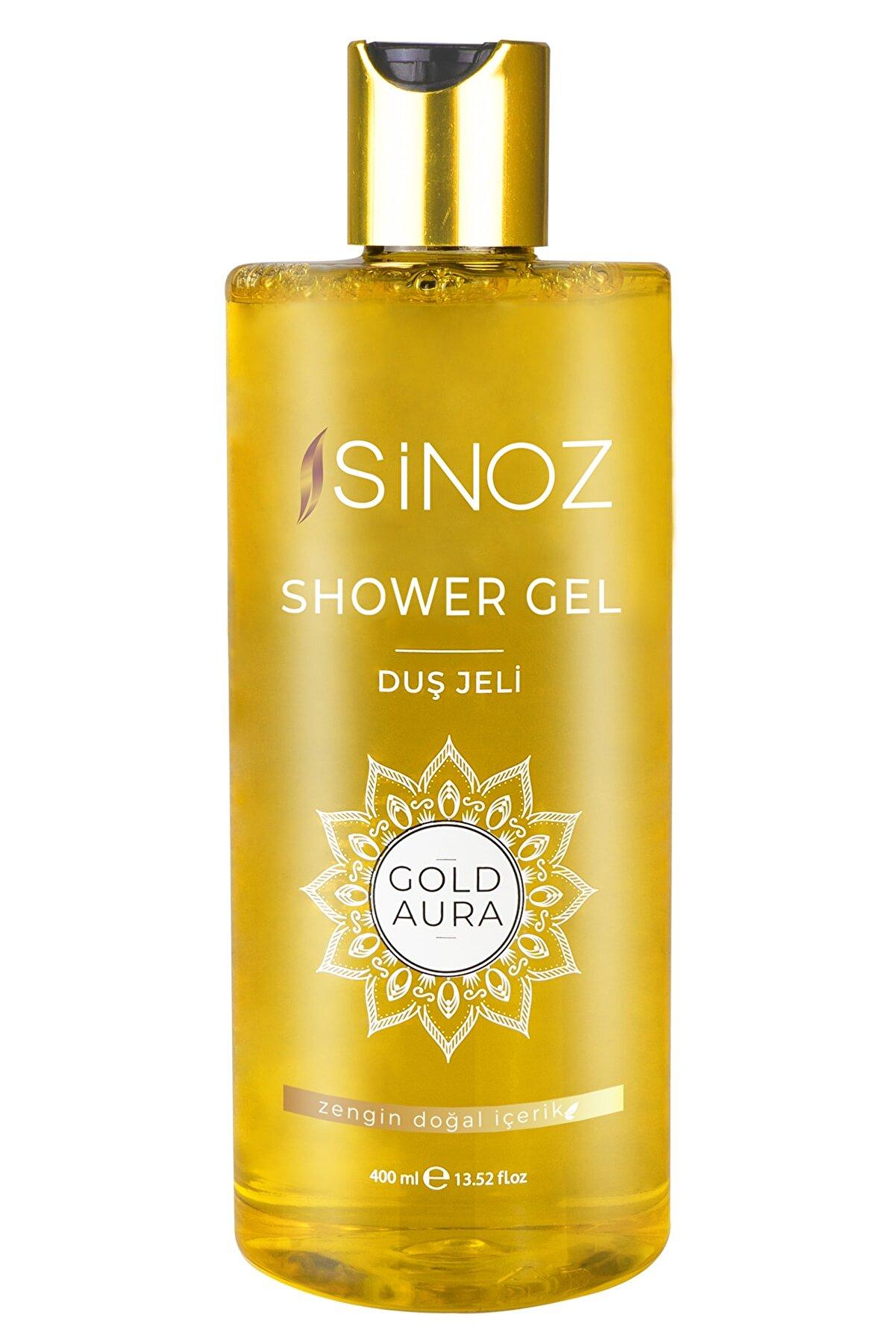 Sinoz Duş Jeli Gold Aura 400 ml