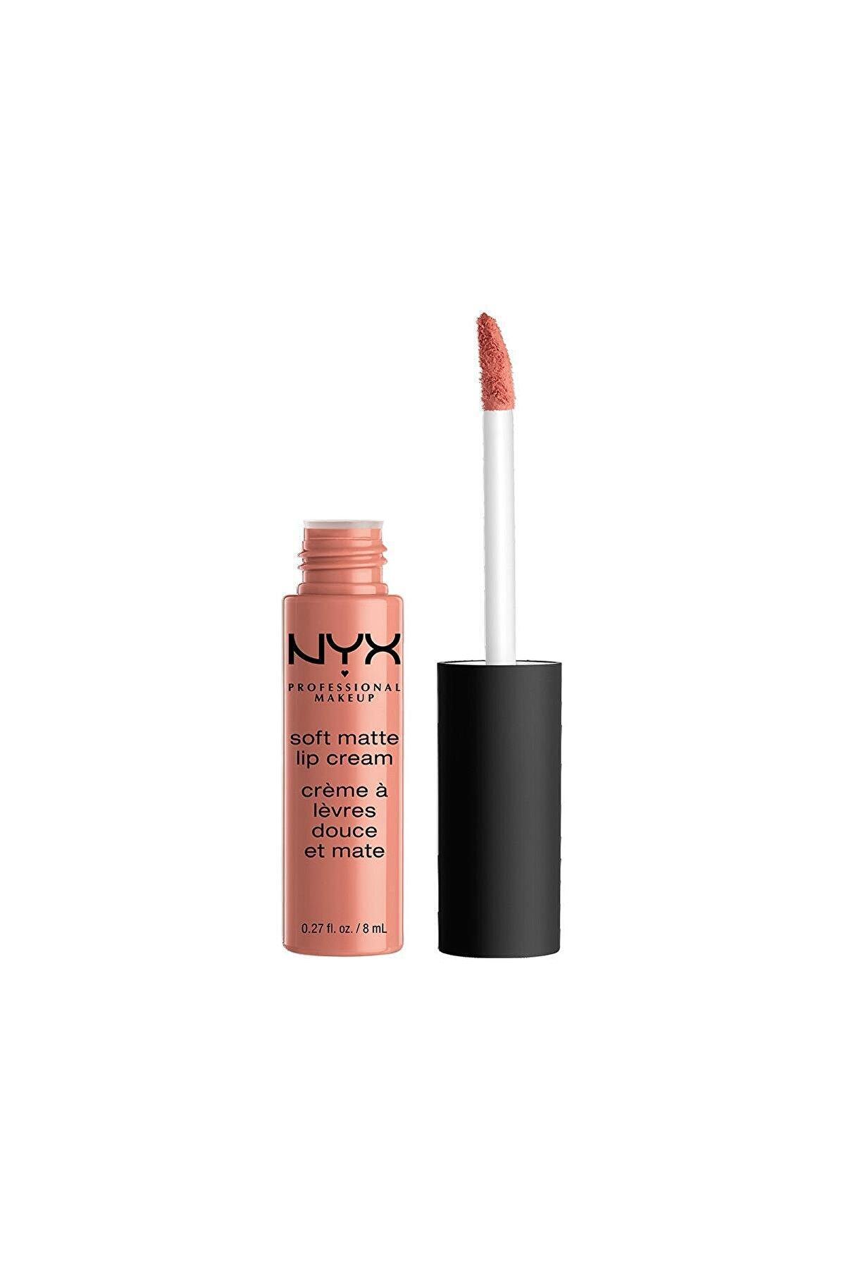 NYX Professional Makeup Mat Ruj - Soft Matte Lip Cream Stockholm 14 G 800897142834