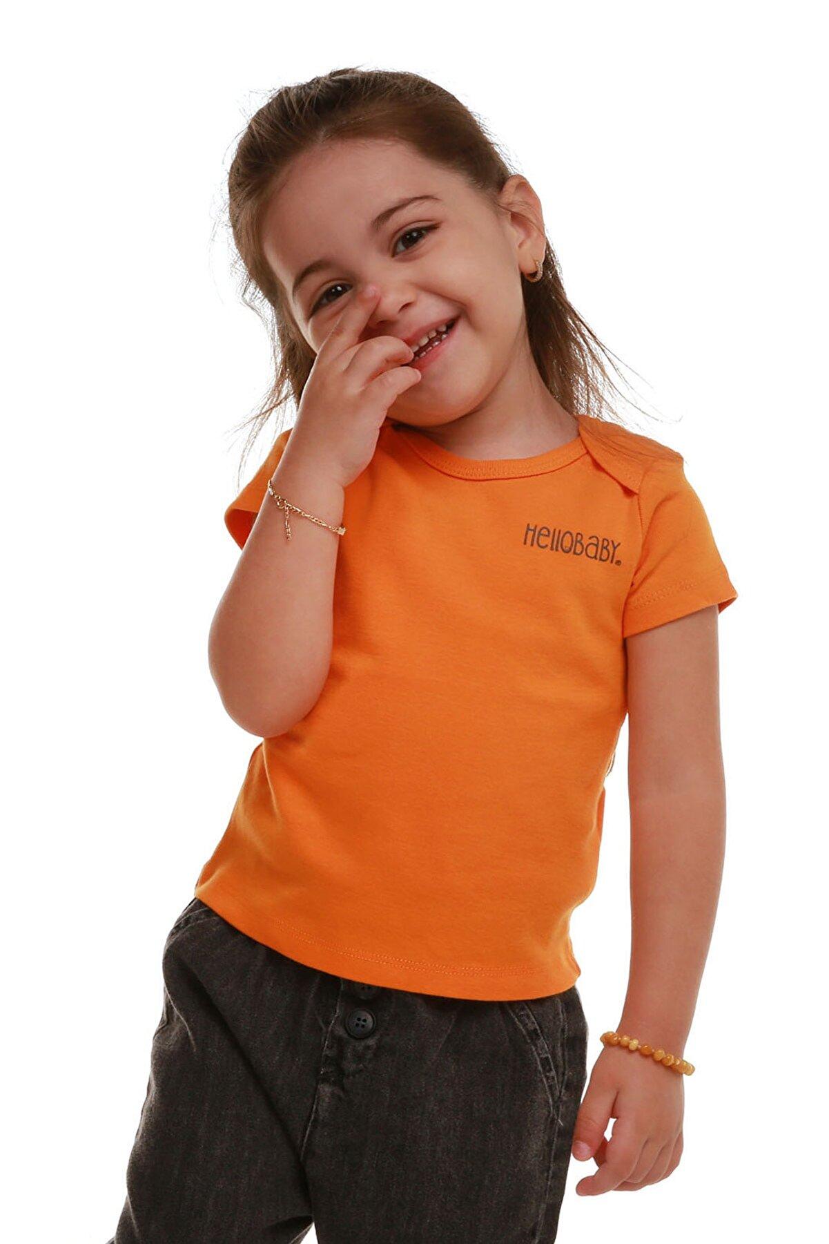 HelloBaby Basic Unisex Ribana Tshirt