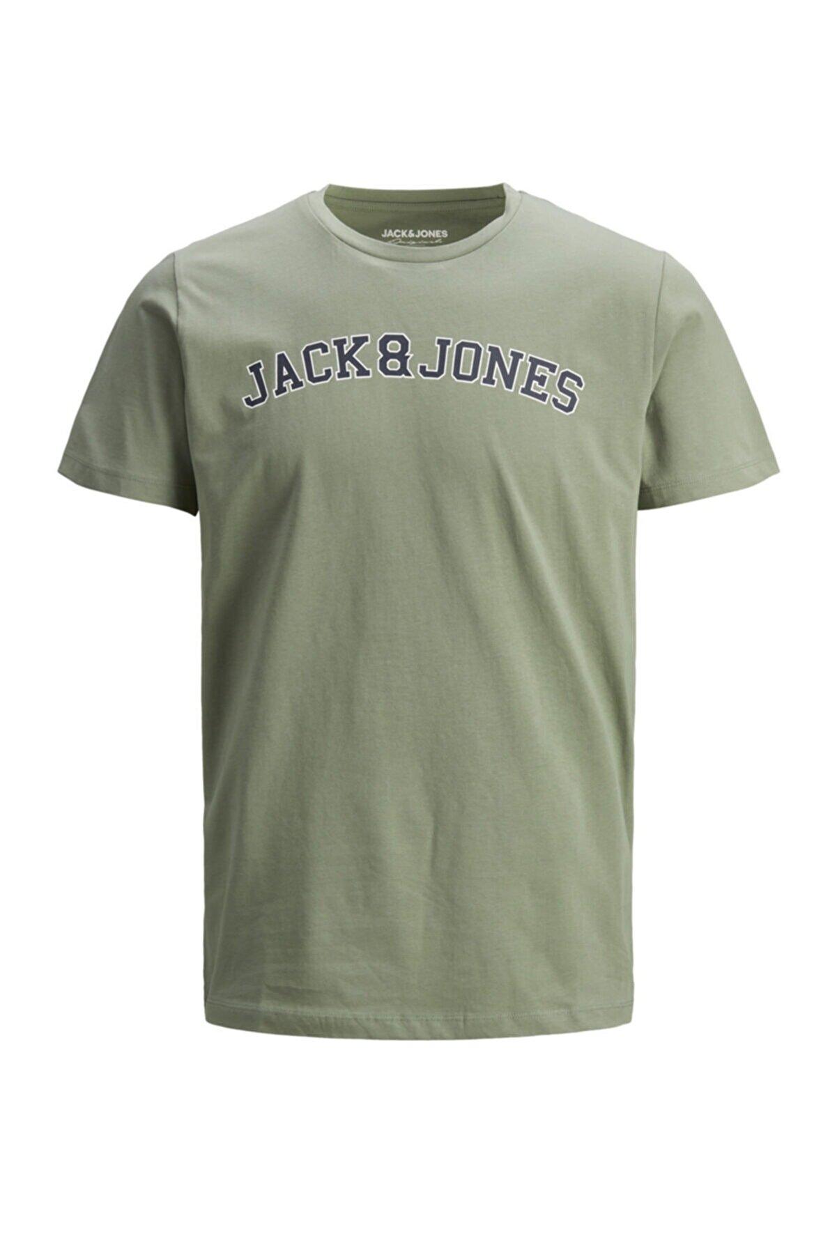 Jack & Jones Bisiklet Yaka T-shirt 12186317 Jorcholl