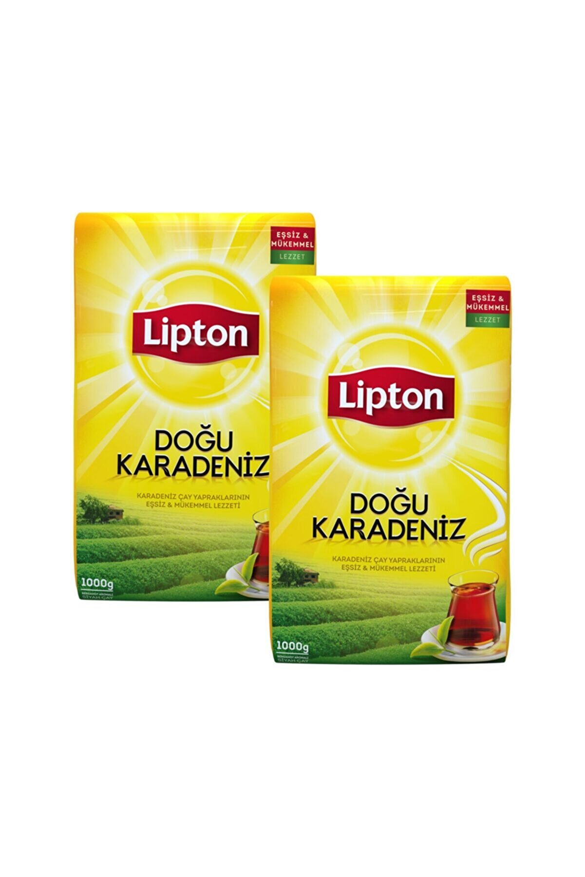 Lipton Doğu Karadeniz Dökme Çay 1000 gr X 2 Adet