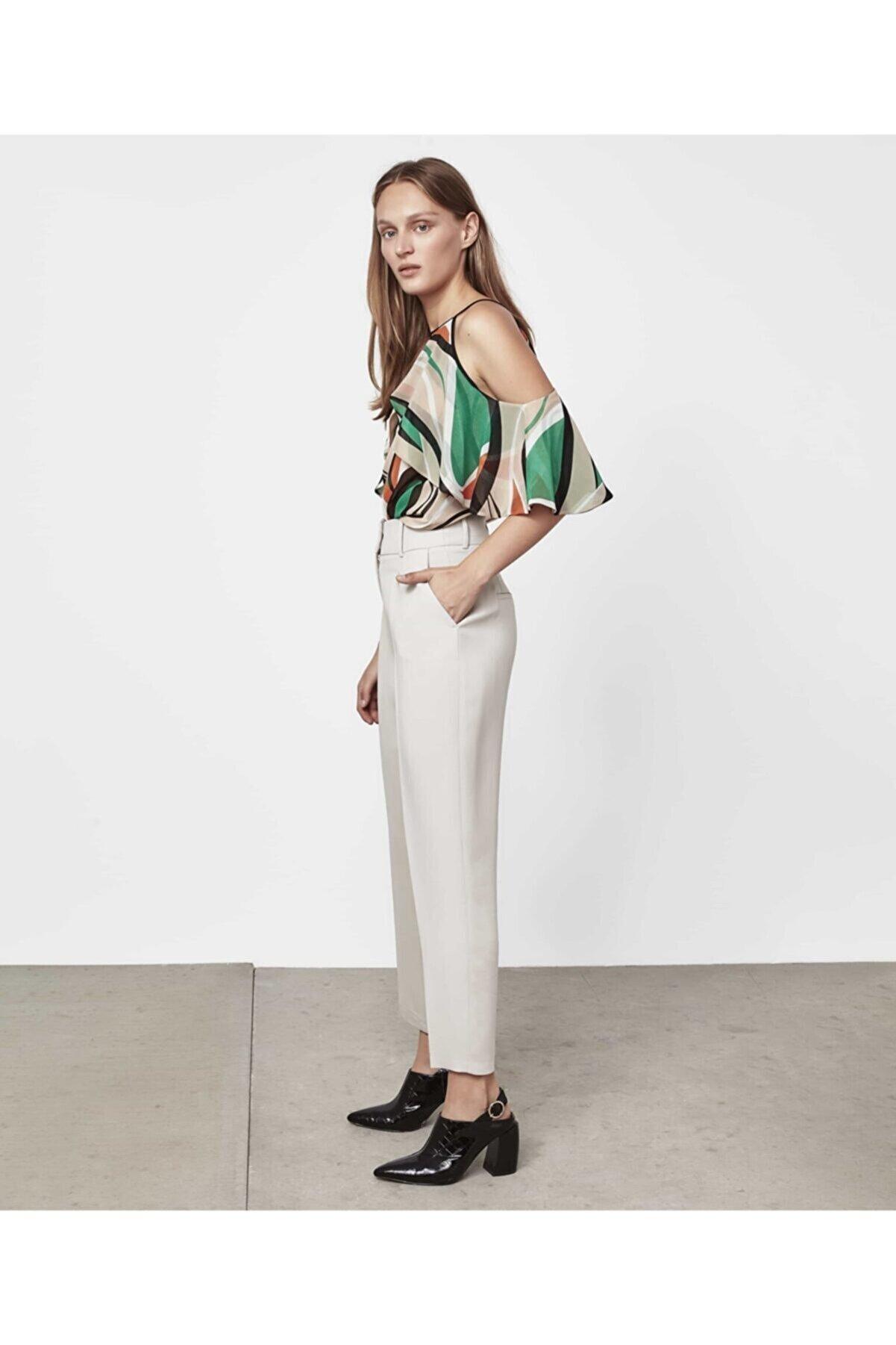 İpekyol Yüksek Bel Pilili Pantolon