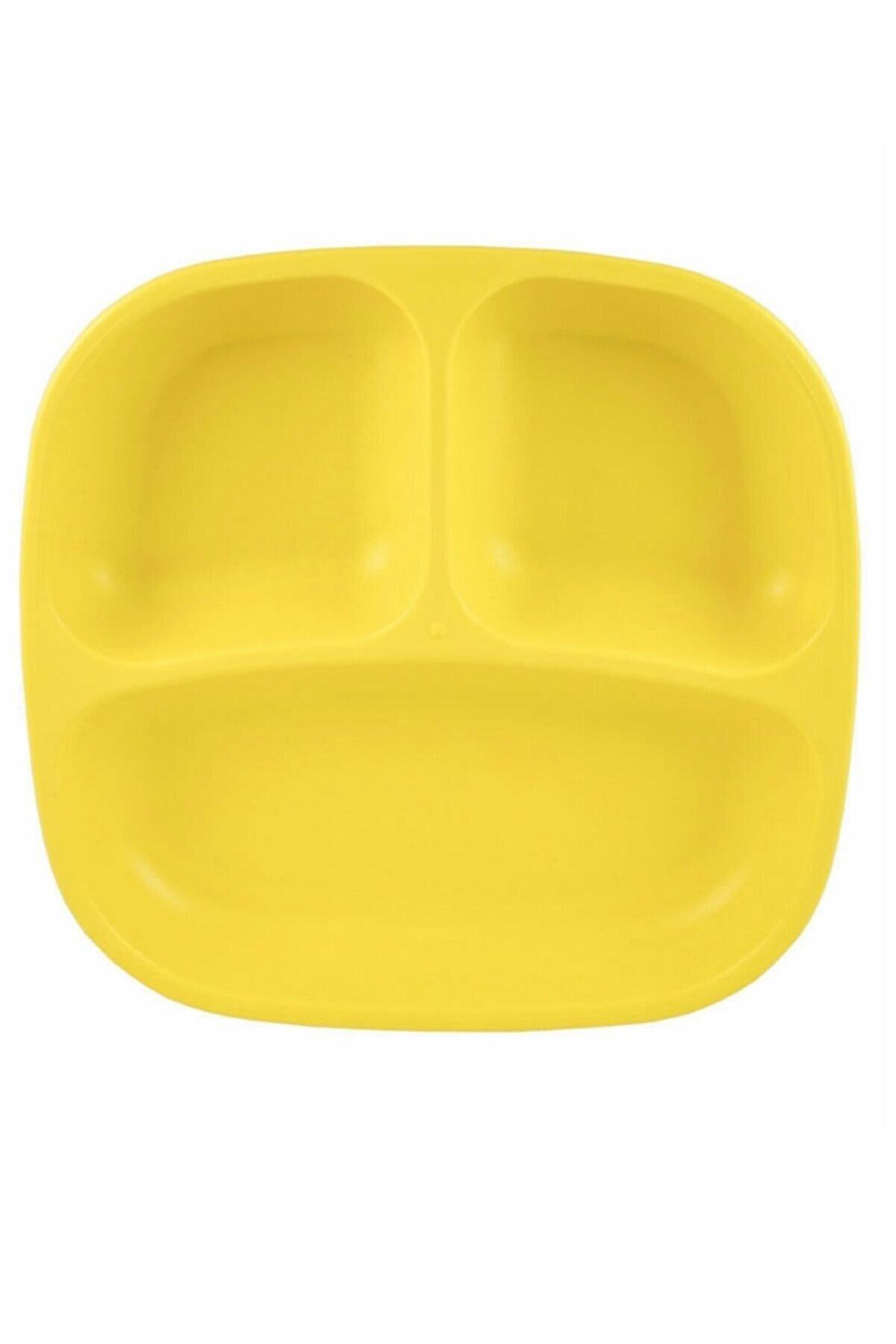 Replay Unisex Sarı Bölmeli Tabak