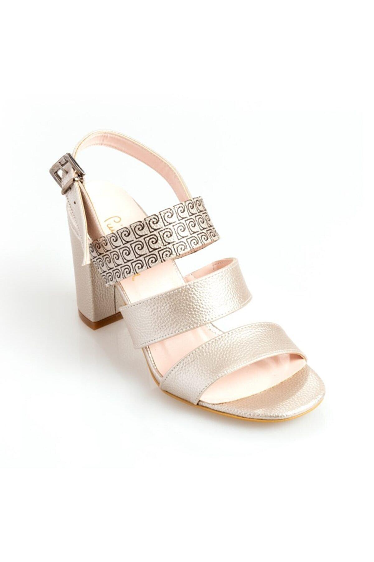 Pierre Cardin Pıerre Cardın 54017 Kadın Klasik Ayakkabı Altın