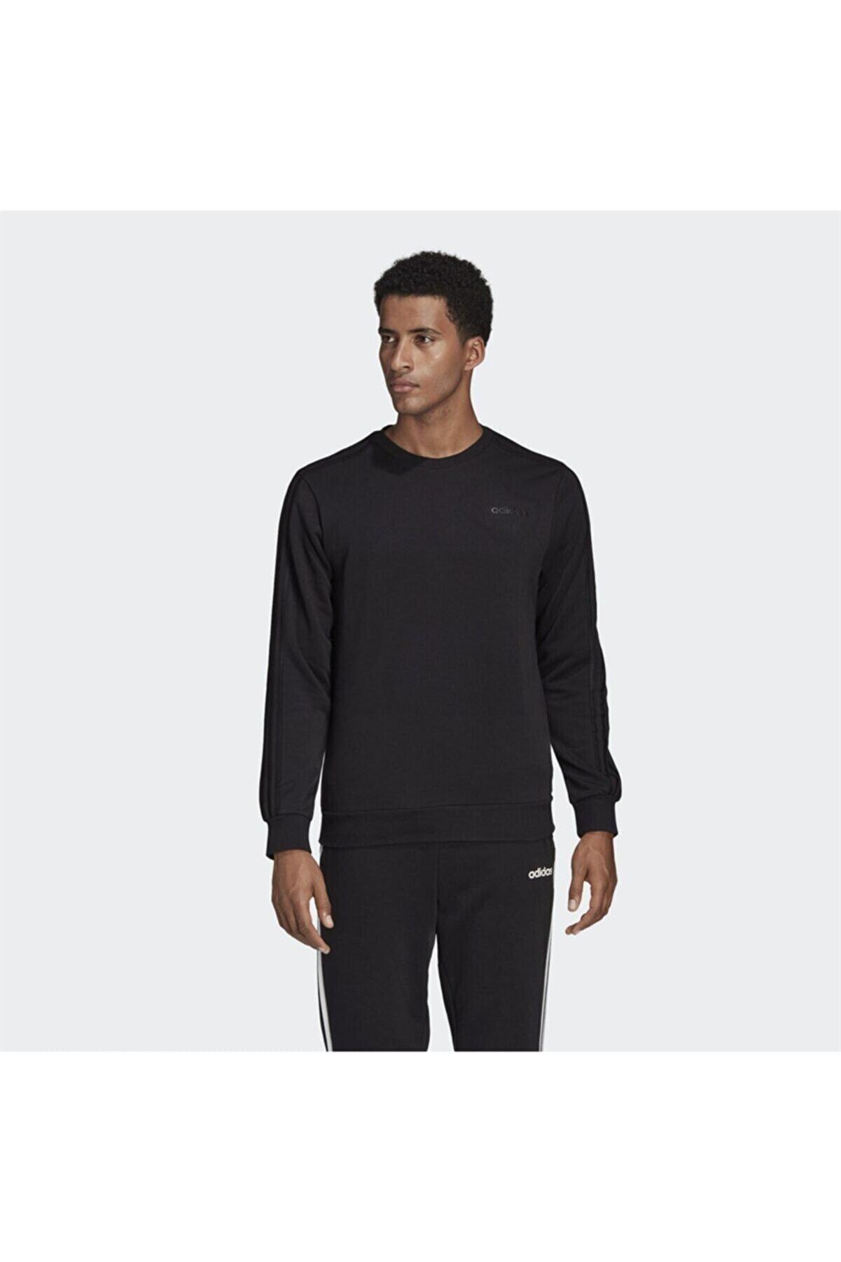 adidas E 3S CREW FT Siyah Erkek Sweatshirt 100664217