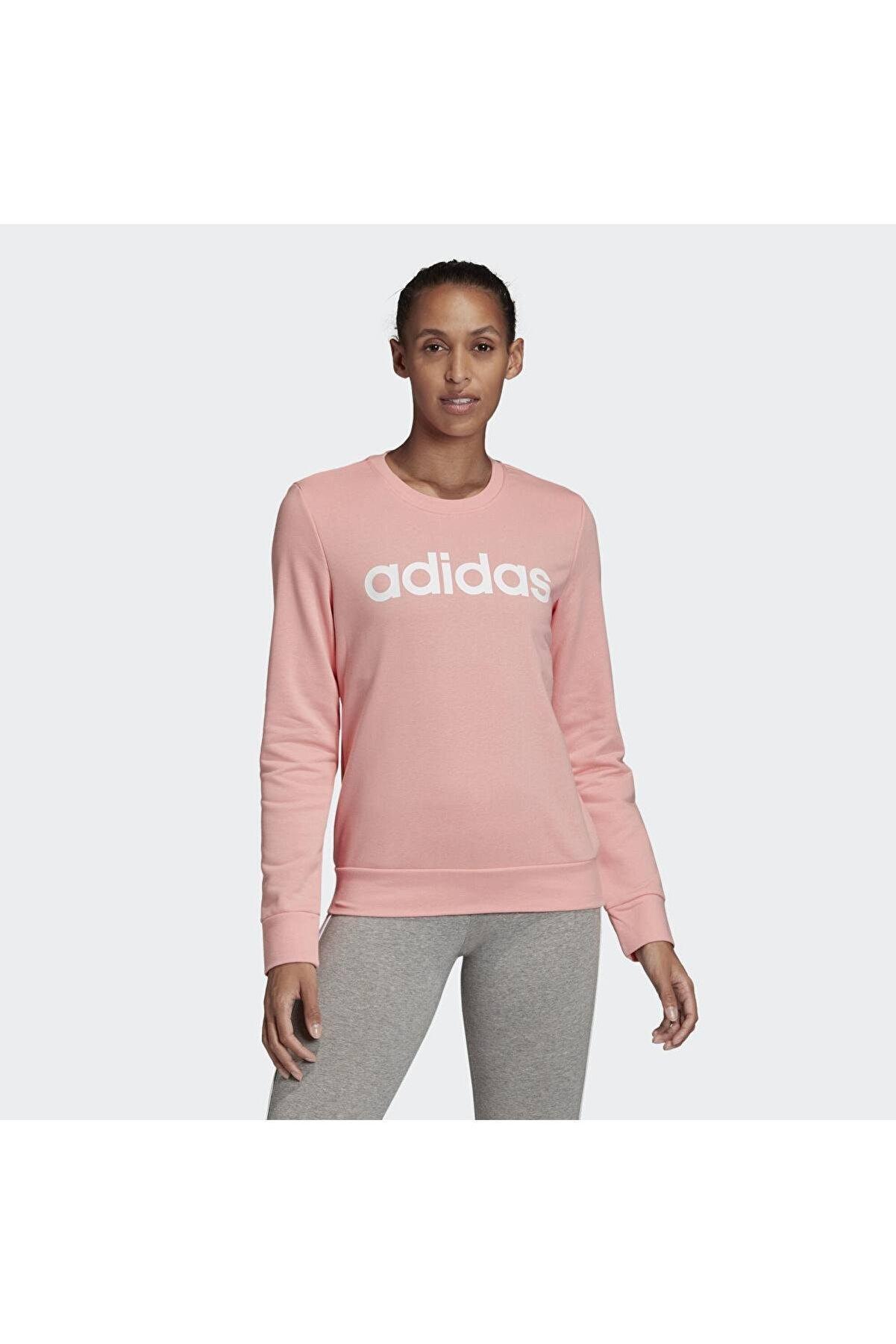 adidas W E LIN SWEAT Pembe Kadın Sweatshirt 100547738