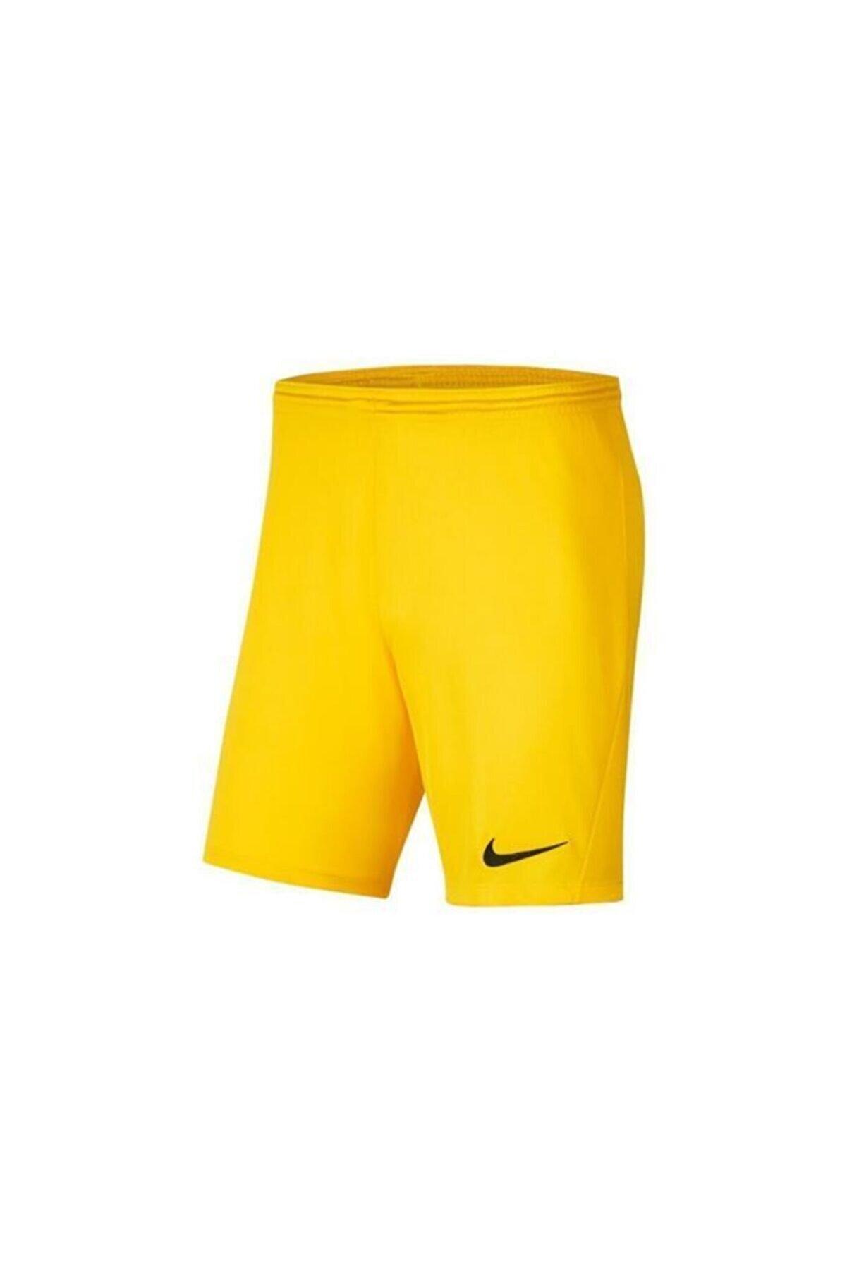 Nike Erkek Sarı Dry Park Şort Iıı Bv6855-719