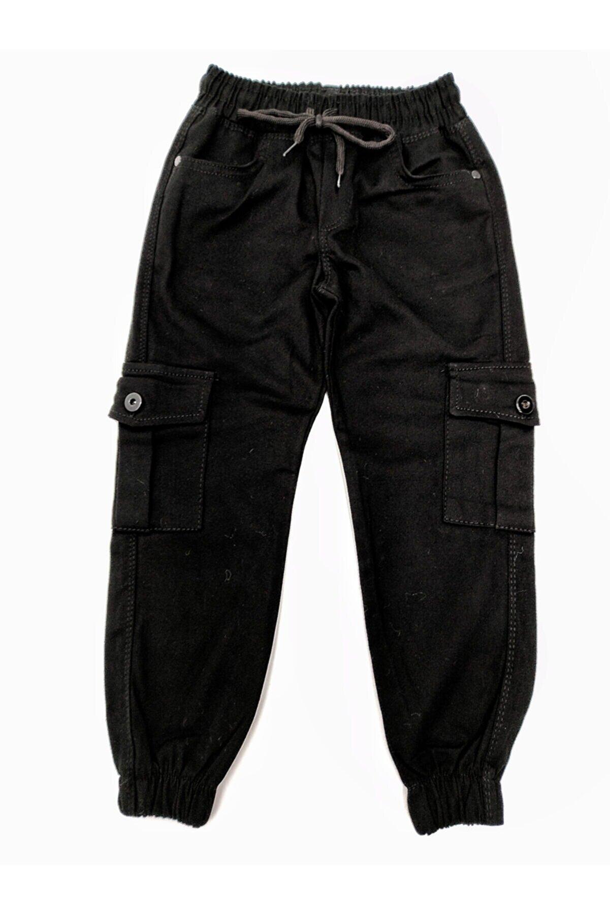 ALKANO Erkek Çocuk Komando Cepli Pantolon