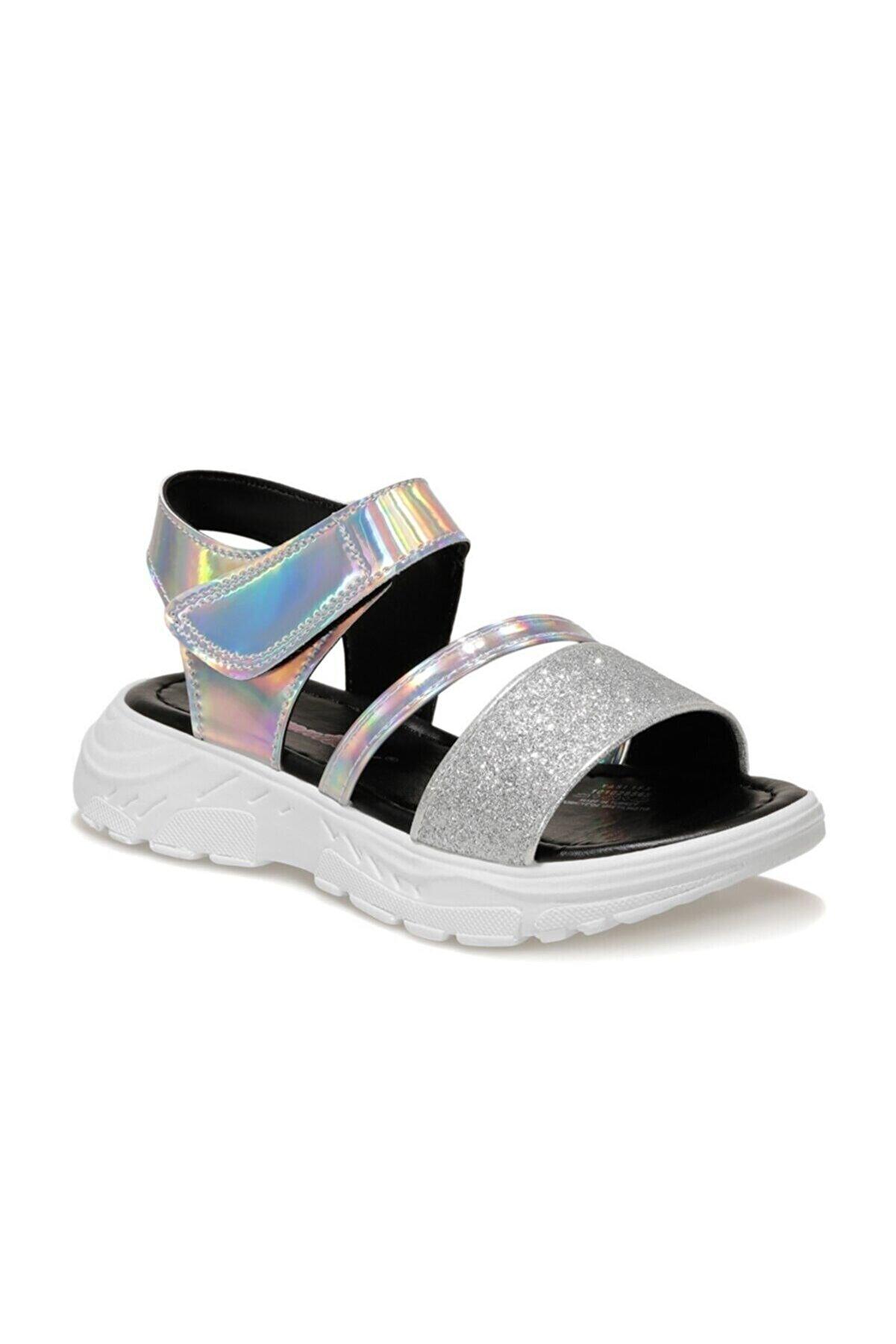 SEVENTEEN YASI 1FX Gümüş Kız Çocuk Sandalet 101028565