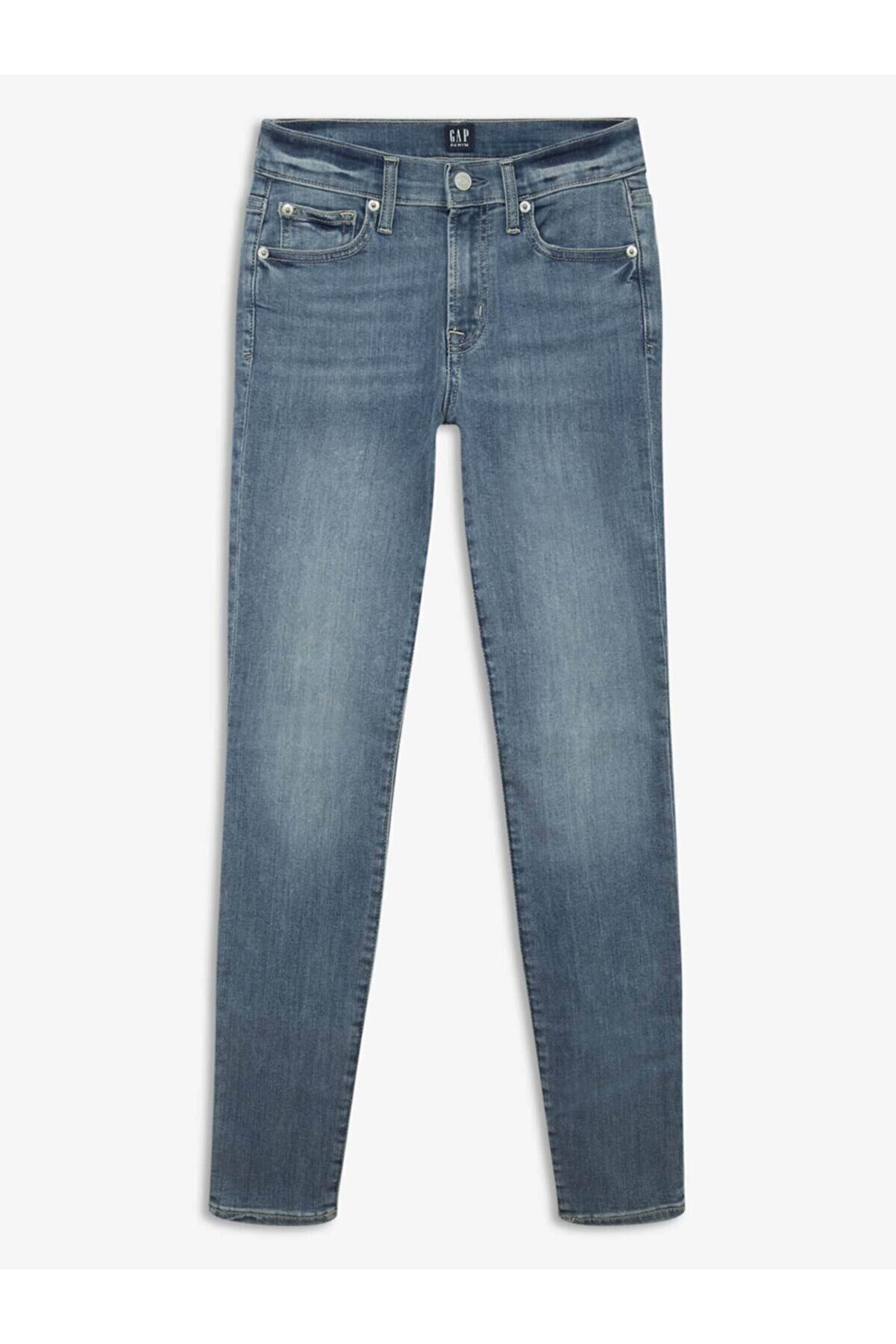 GAP True Skinny Ankle Jean Pantolon