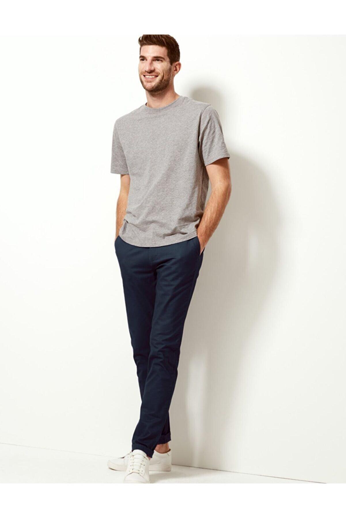 Marks & Spencer Slim Fit Pamuklu Chino Pantolon