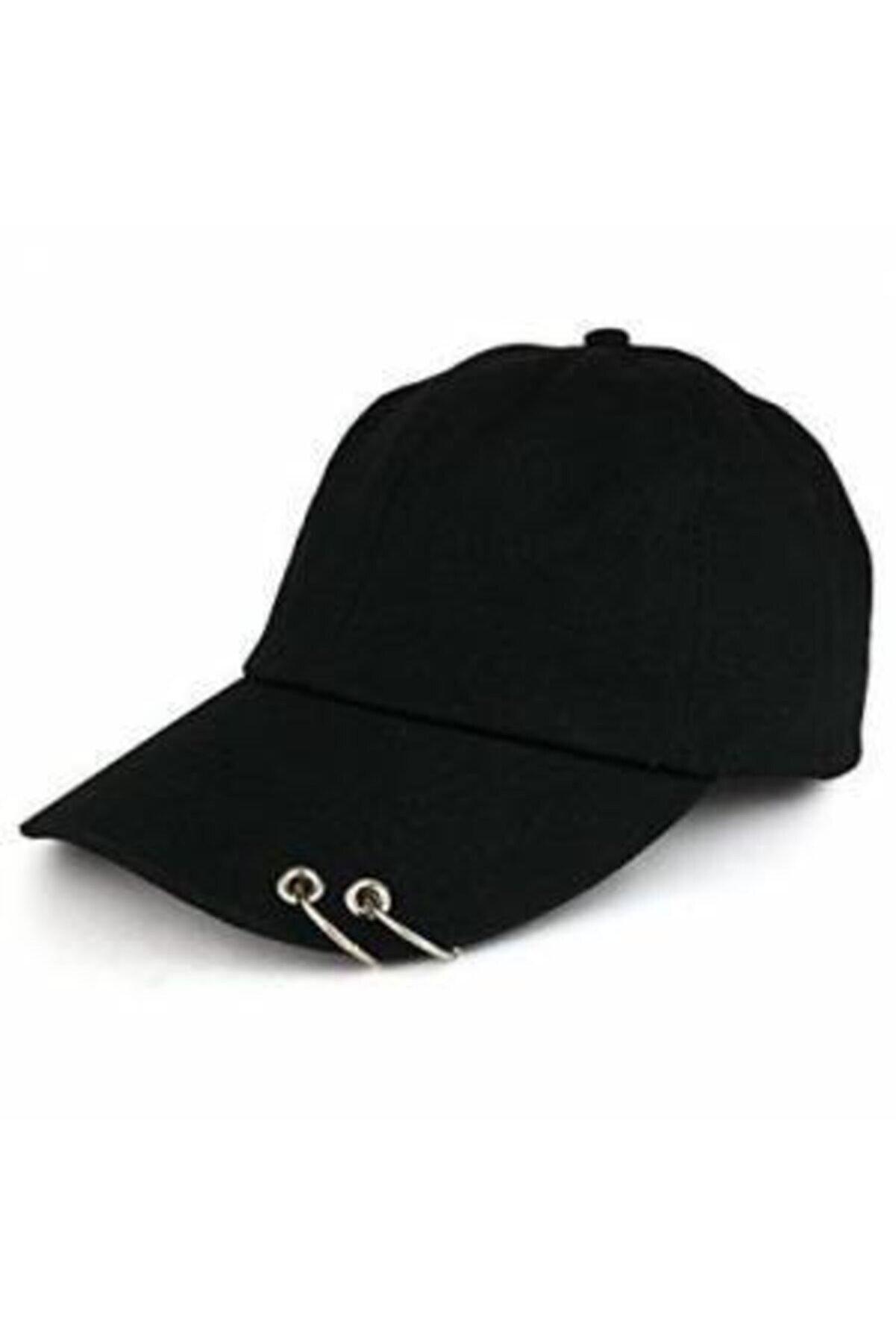 OEM Kpop 2 Halkalı Pirsingli Şapka