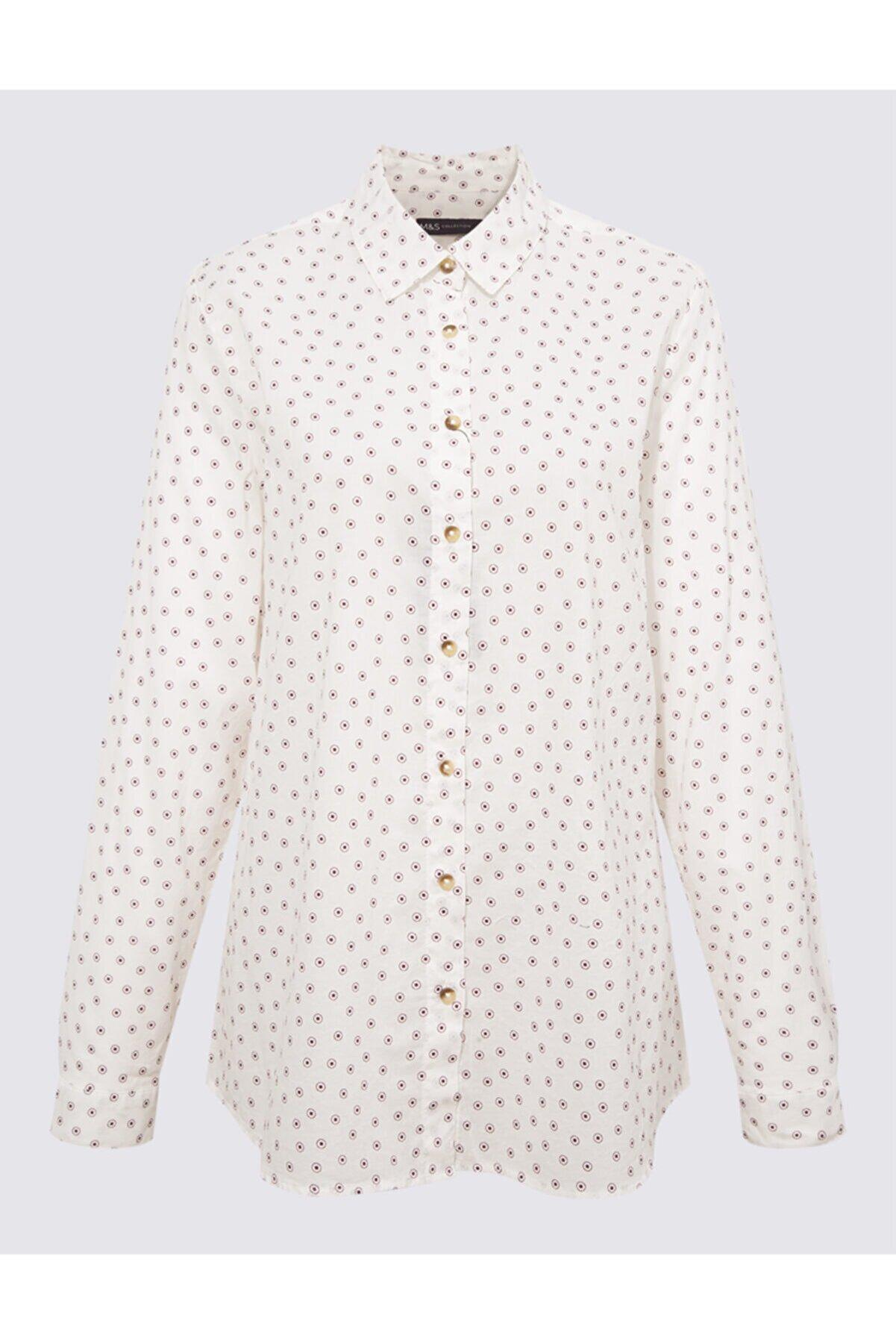 Marks & Spencer Saf Pamuklu Gömlek