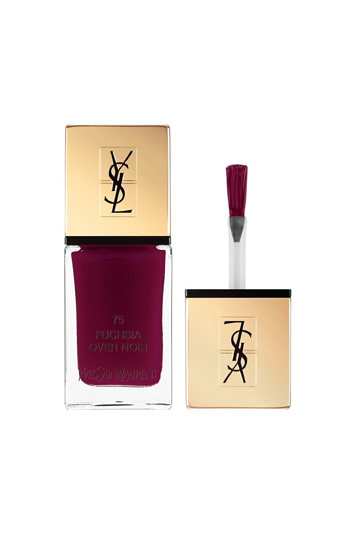 Yves Saint Laurent La Laque Couture Tırnaklarınızda Couture Dünyasını Hissettiren Oje 75fuchsia Overnoir 3614271332738