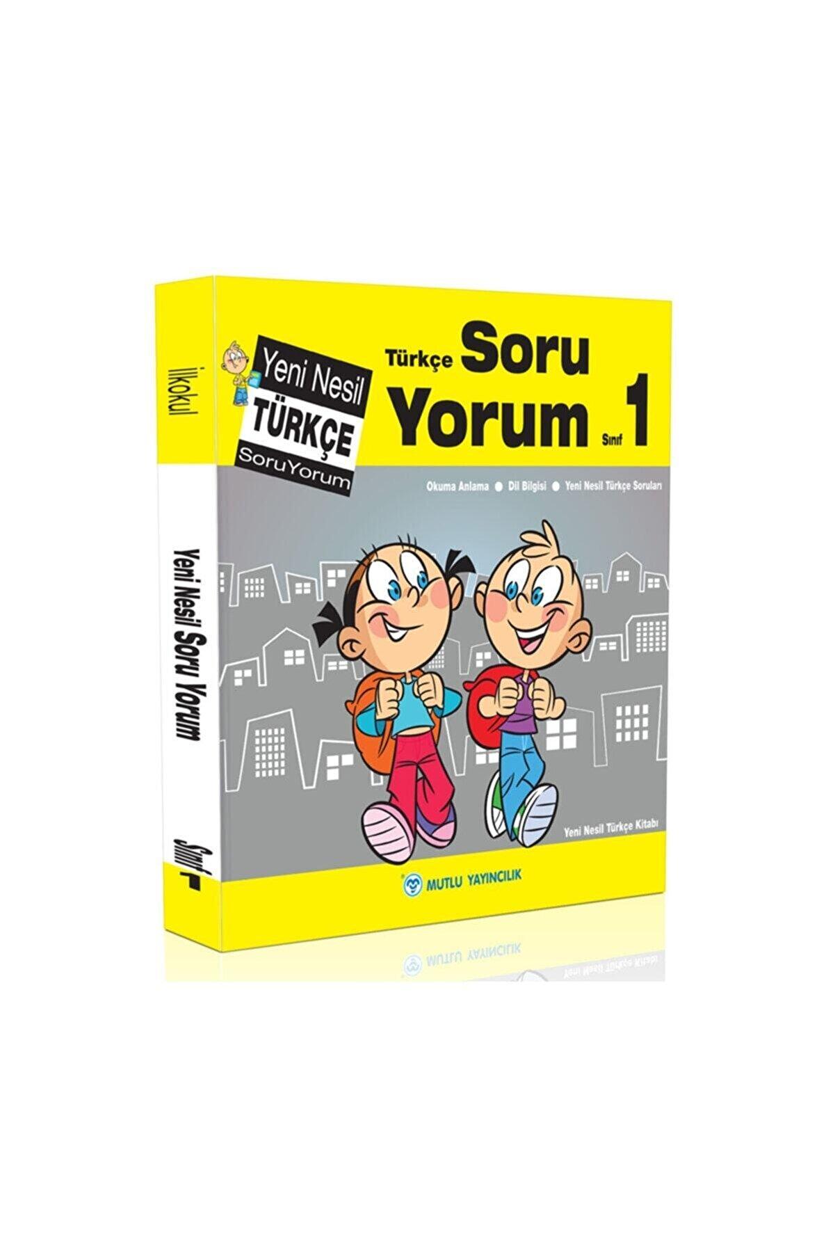 Mutlu Yayıncılık 1. Sınıf Türkçe Soru Yorum