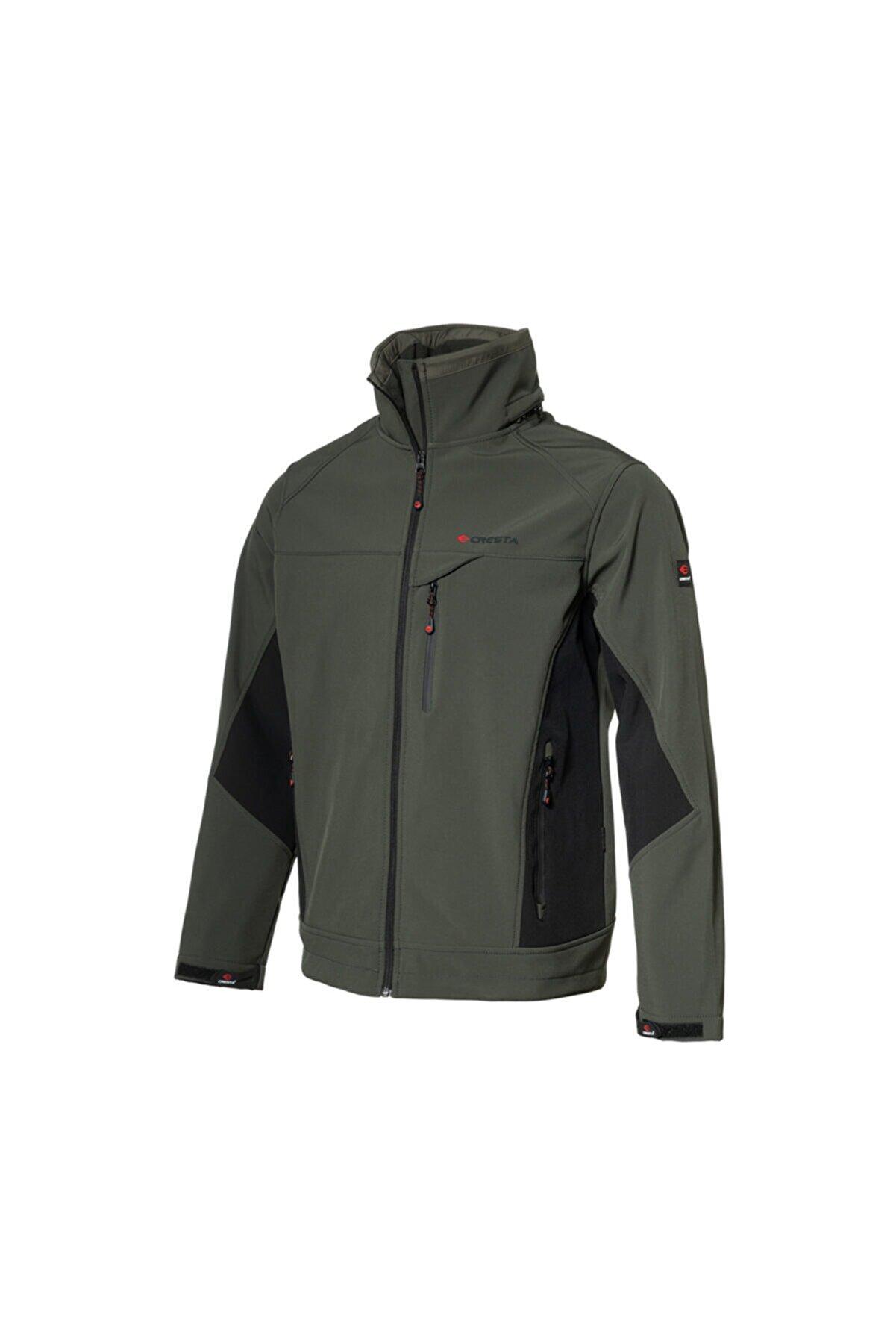 Cresta Outdoor Gizli Kapüşonlu Erkek Softshell Ceket