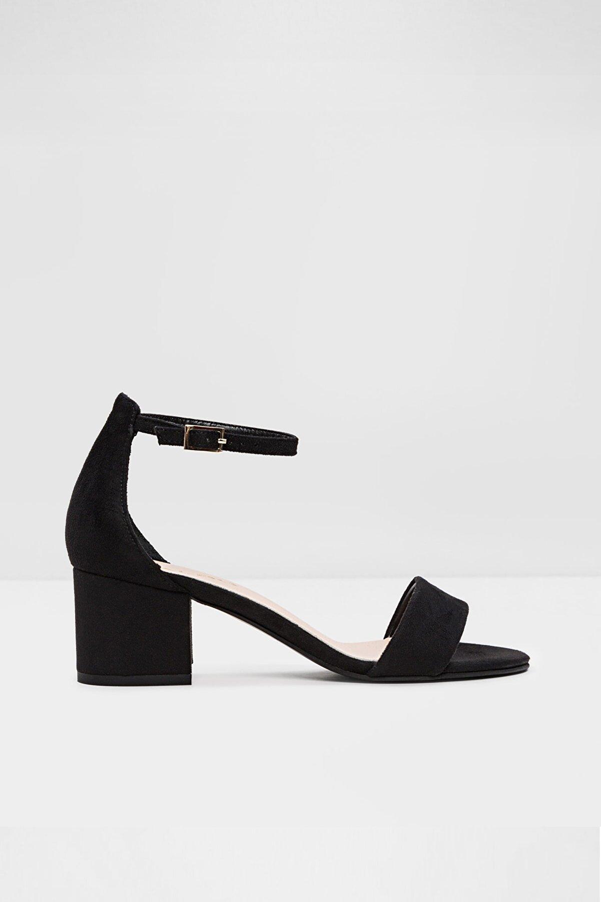 Aldo Vıllarosa-tr - Siyah Kadın Topuklu Sandalet