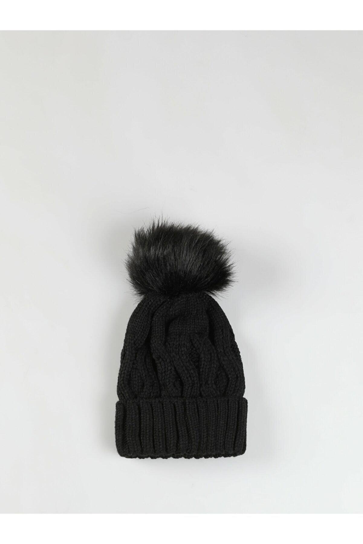 Colin's KADIN Modern Fit Kadın Siyah Bere CL1046364