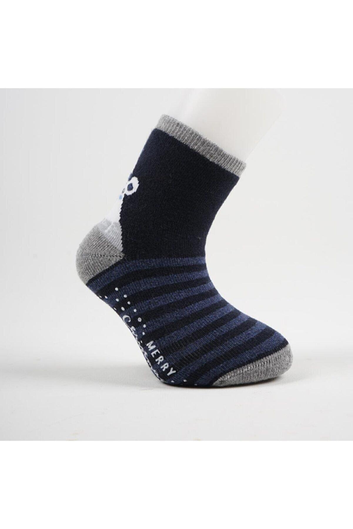 Artı Cristy 3'lü Abs'li Çocuk Havlu Soket Çorap